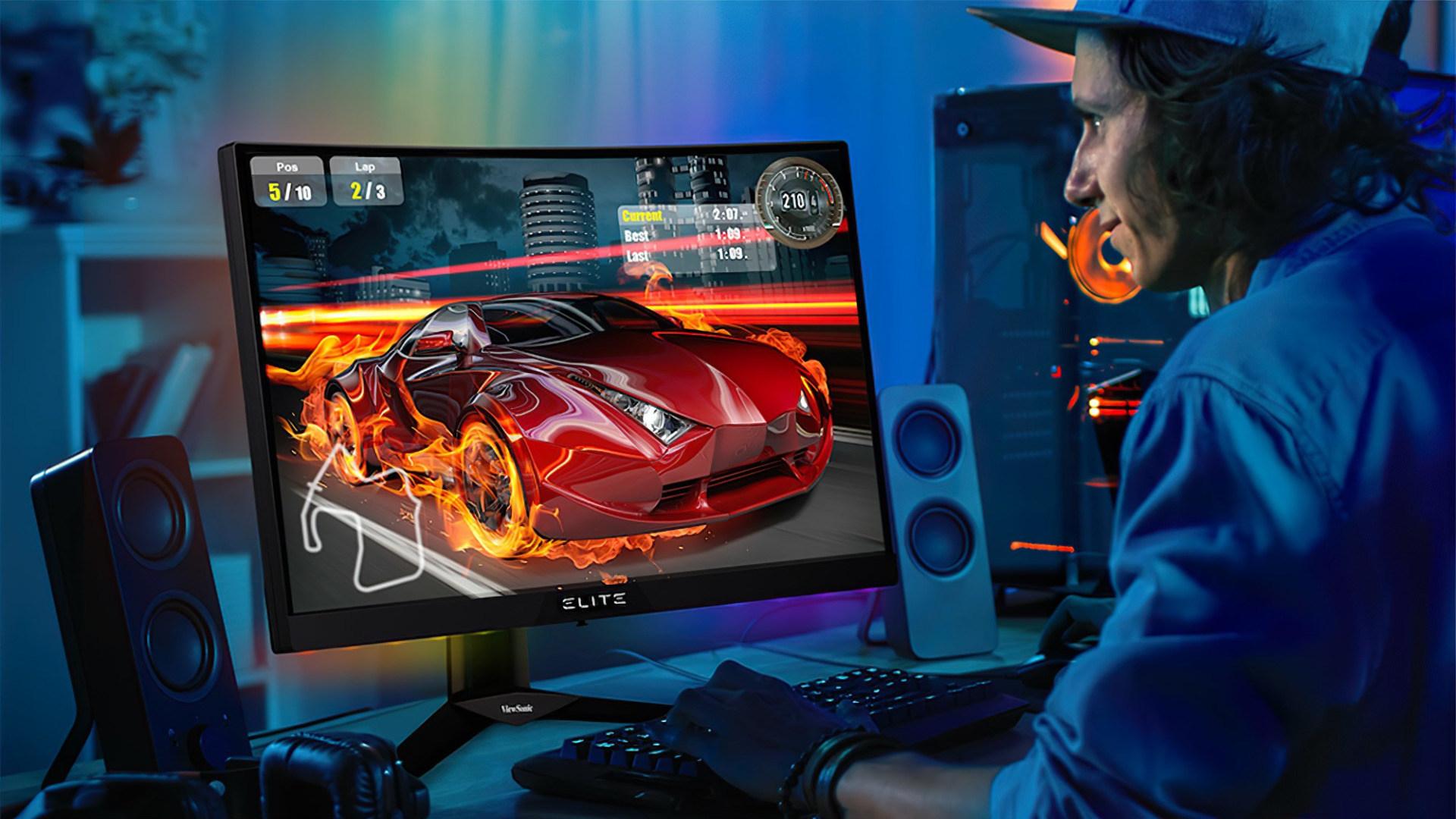 Gaming, Spiele, Games, Display, Monitor, Spieler, Gamer, PC-Gaming, Viewsonic