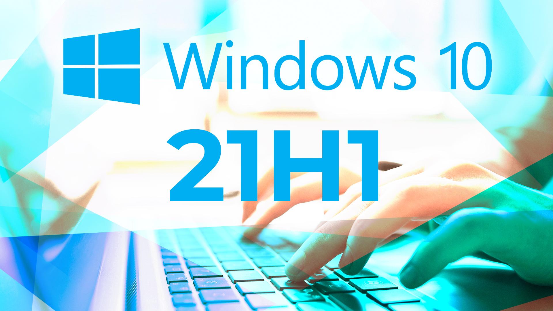 Windows 10, Laptop, Insider Preview, Windows Update, Microsoft Windows, Microsoft Windows 10, 21H1, Windows 10 21H1, Windows 10 2021 Update, Hände