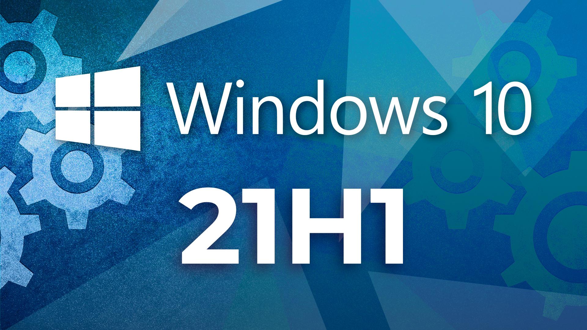 Windows 10, Insider Preview, Windows Update, Microsoft Windows, Microsoft Windows 10, 21H1, Windows 10 21H1, Windows 10 2021 Update, Zahnrad