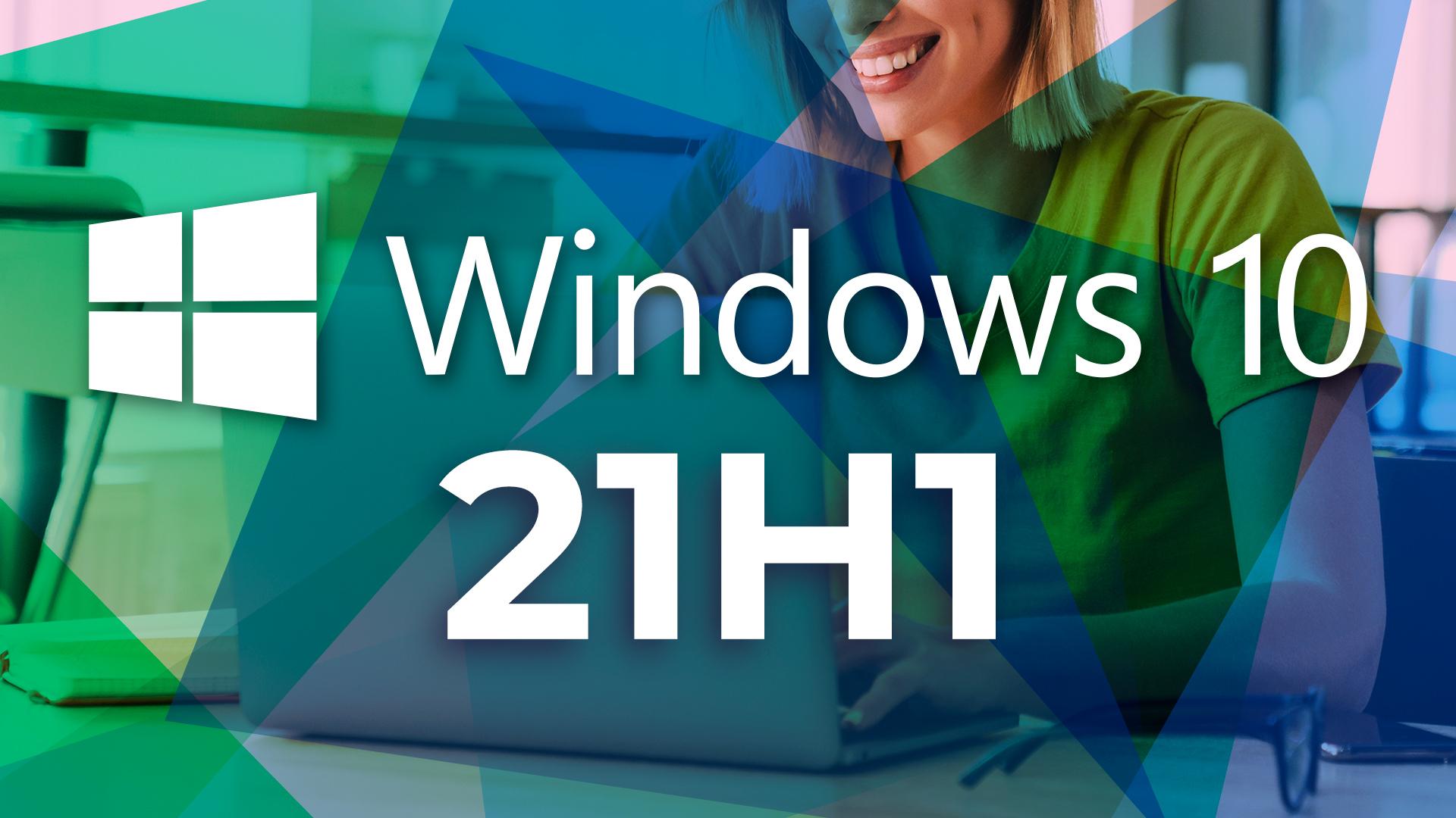 Windows 10, Laptop, Insider Preview, Windows Update, Microsoft Windows, Microsoft Windows 10, 21H1, Windows 10 21H1, Windows 10 2021 Update, Gesicht