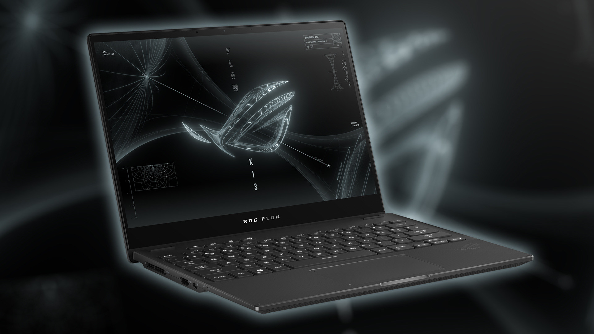 Gaming, Spiele, Games, Asus, 2-in-1, Notebooks, Laptops, Convertibles, ROG Flow X13