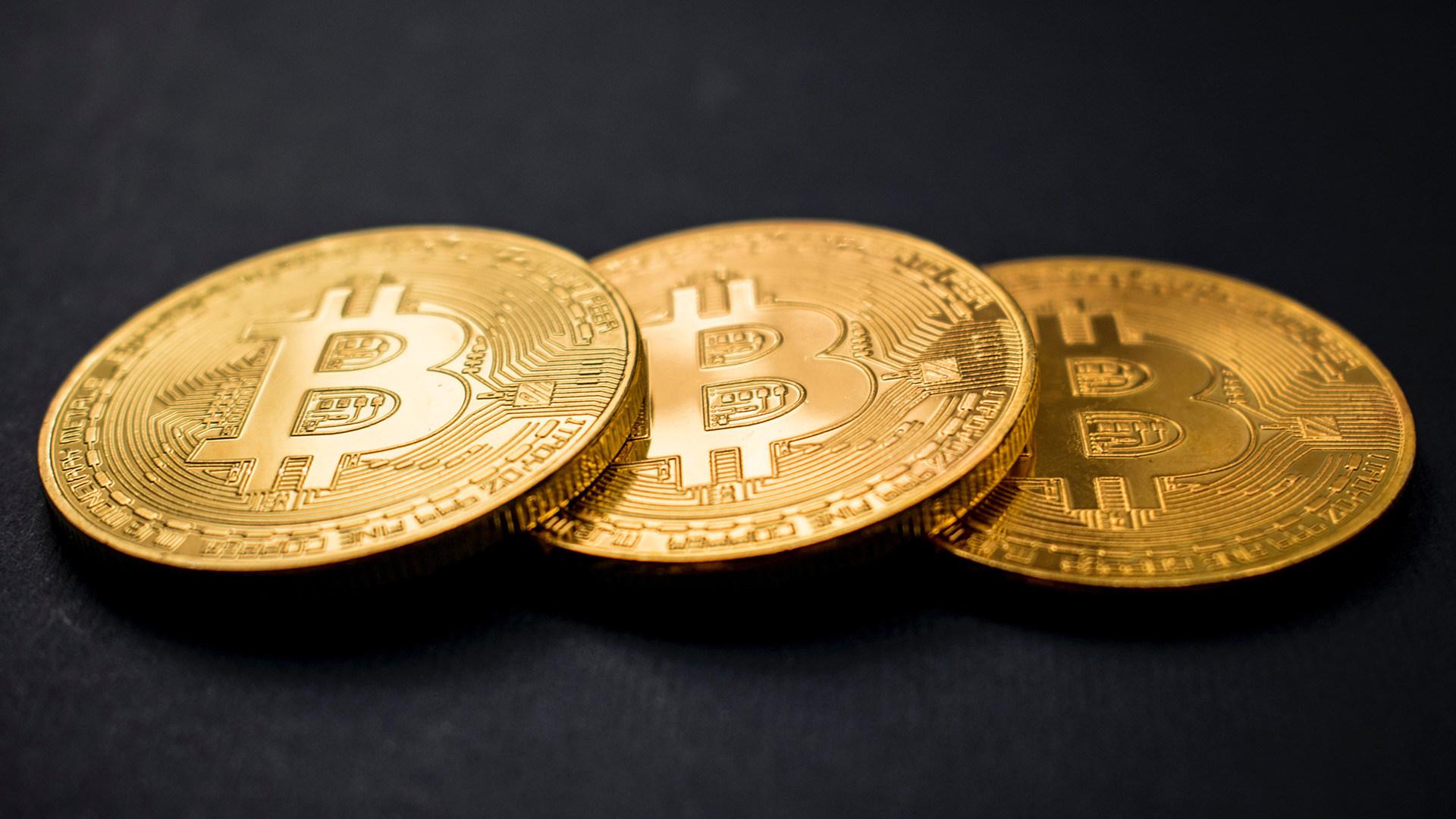 Bitcoin, Geld, Kryptowährung, Währung, Bitcoins, virtuelle Währung, Münzen