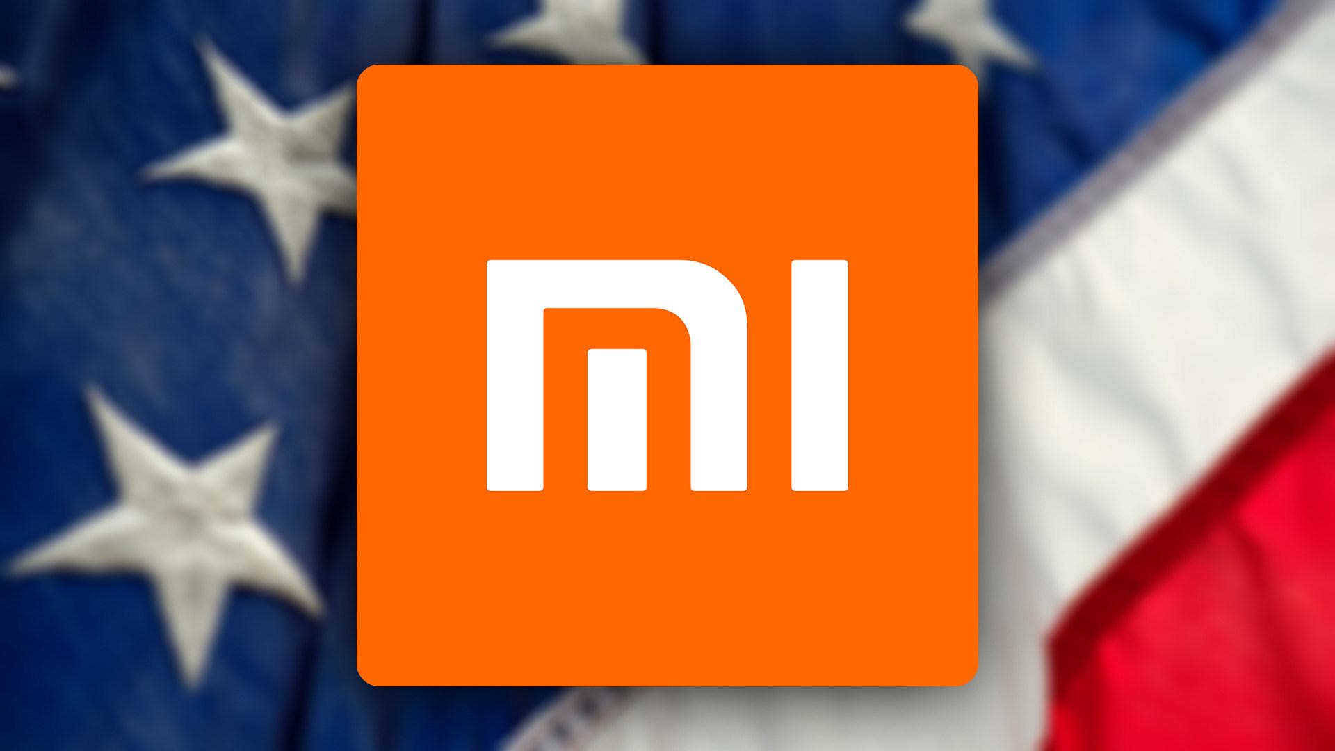 Smartphones, Logo, Usa, China, Xiaomi, Handelskrieg, Sanktionen, Flagge, US-Embargo, Bann, Vereinigte Staaten, Handelsstreit