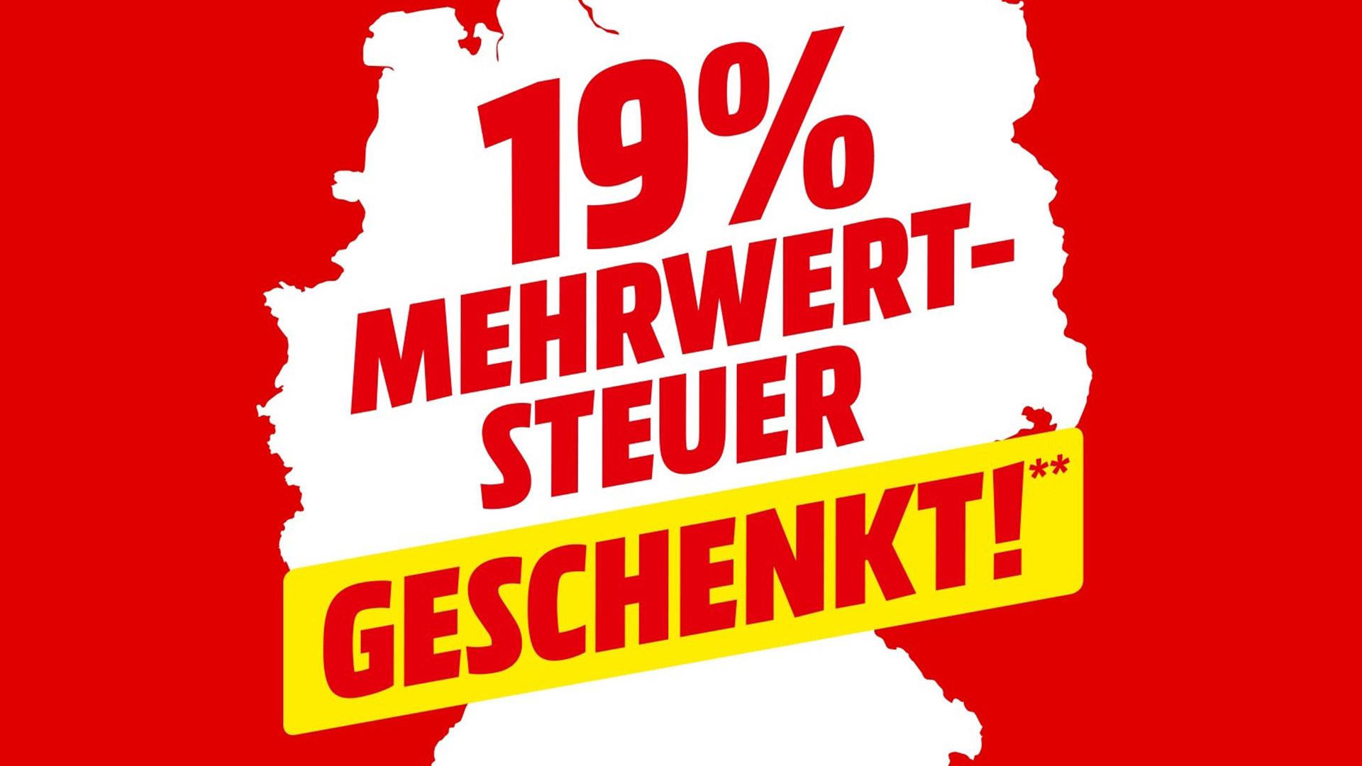 Sonderangebote, Rabattaktion, sale, Deals, Media Markt, 19 Prozent Aktion, Steuersparadies