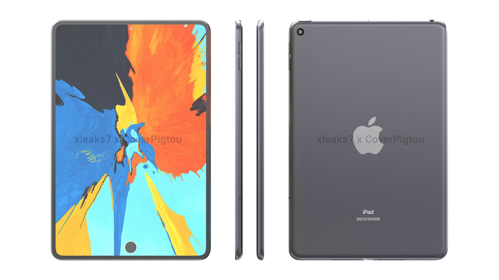 Apple, Gerüchte, Tablets, Leaks, Renderbilder, Renderbild, iPadOS, Rendering, iPad Mini 2021, iPad Mini 6