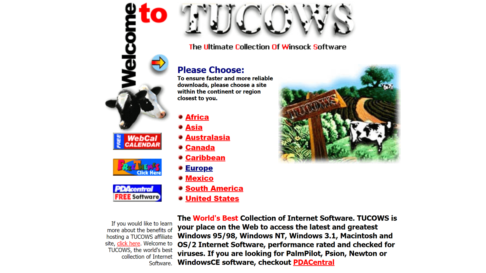 Internet, Software, Download, Downloads, Portal, Archiv, Tucows