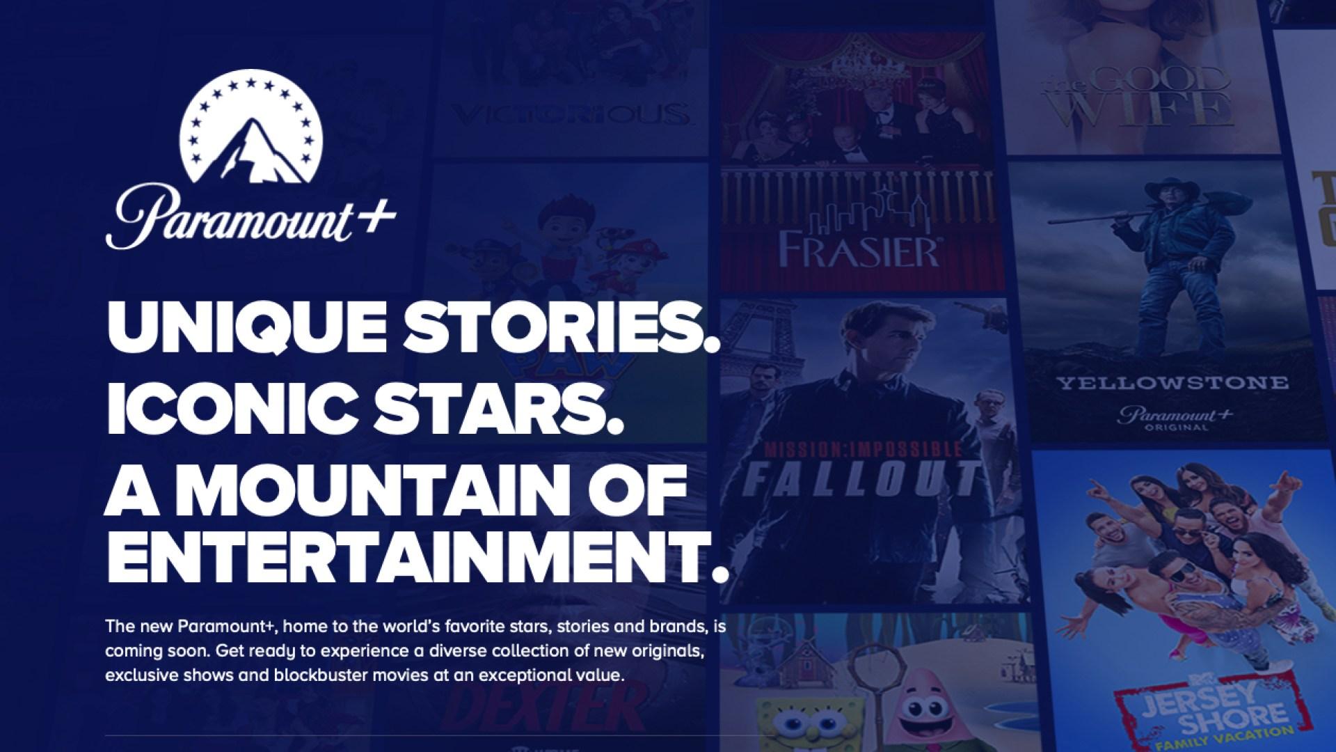Cbs, Paramount, Viacom, CBS all Access, paramountplus