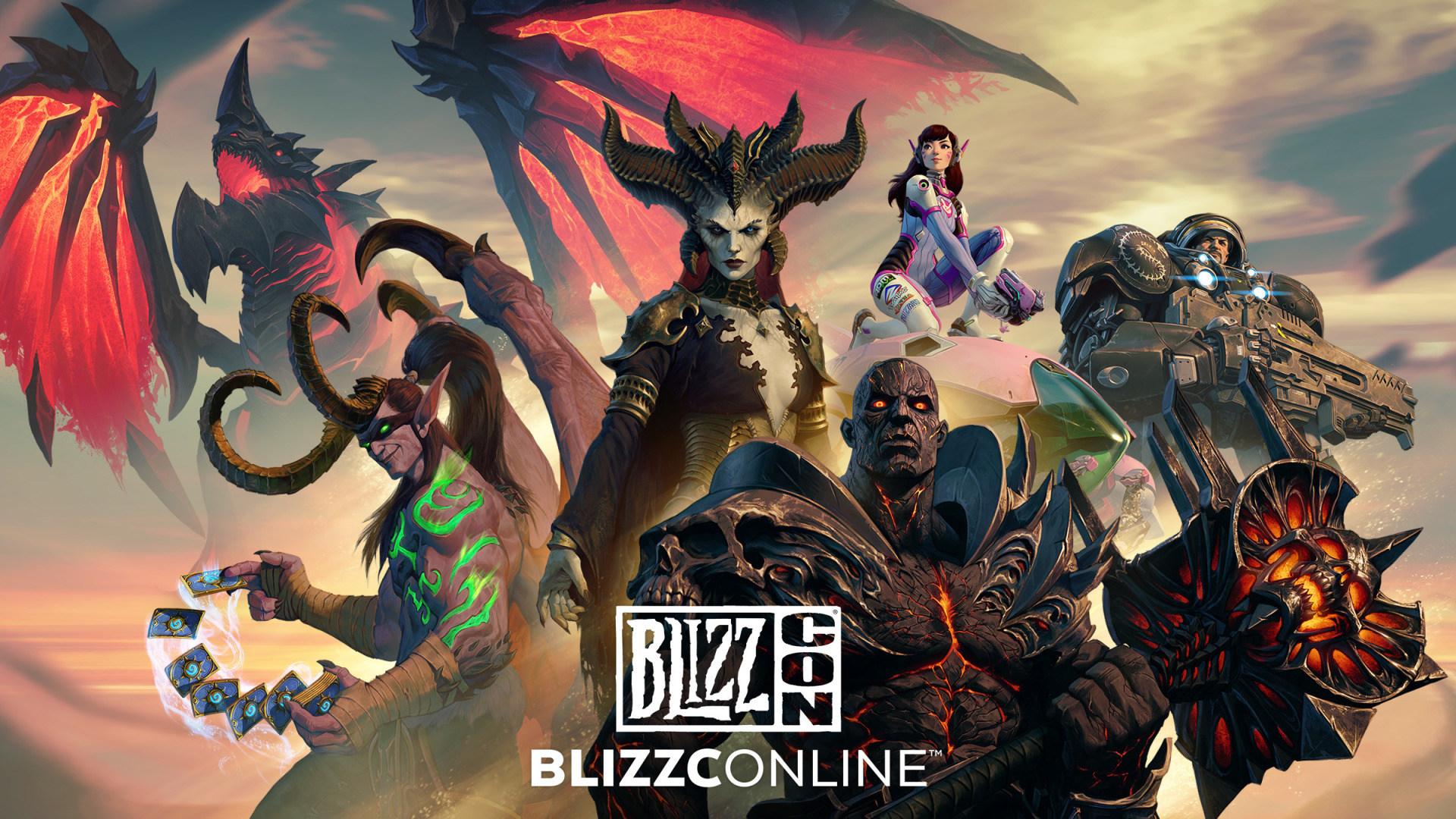 Logo, Blizzard Entertainment, Blizzcon 2021, BlizzConline