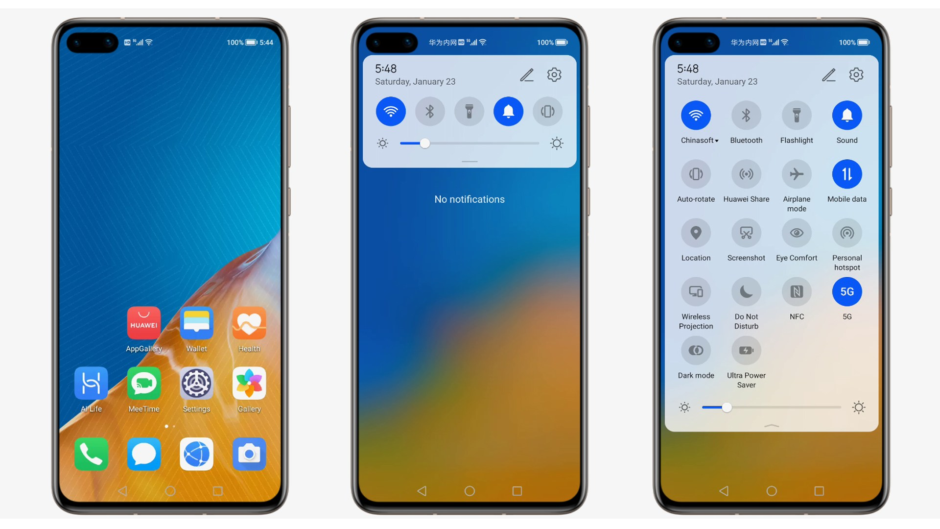 Betriebssystem, Huawei, Beta, Oberfläche, Android 10, Screenshot, Vorabversion, EMUI 10, Huawei P40, HarmonyOS, Harmony, EMUI10, Harmony OS 2.0, Harmony OS 2.0 Beta