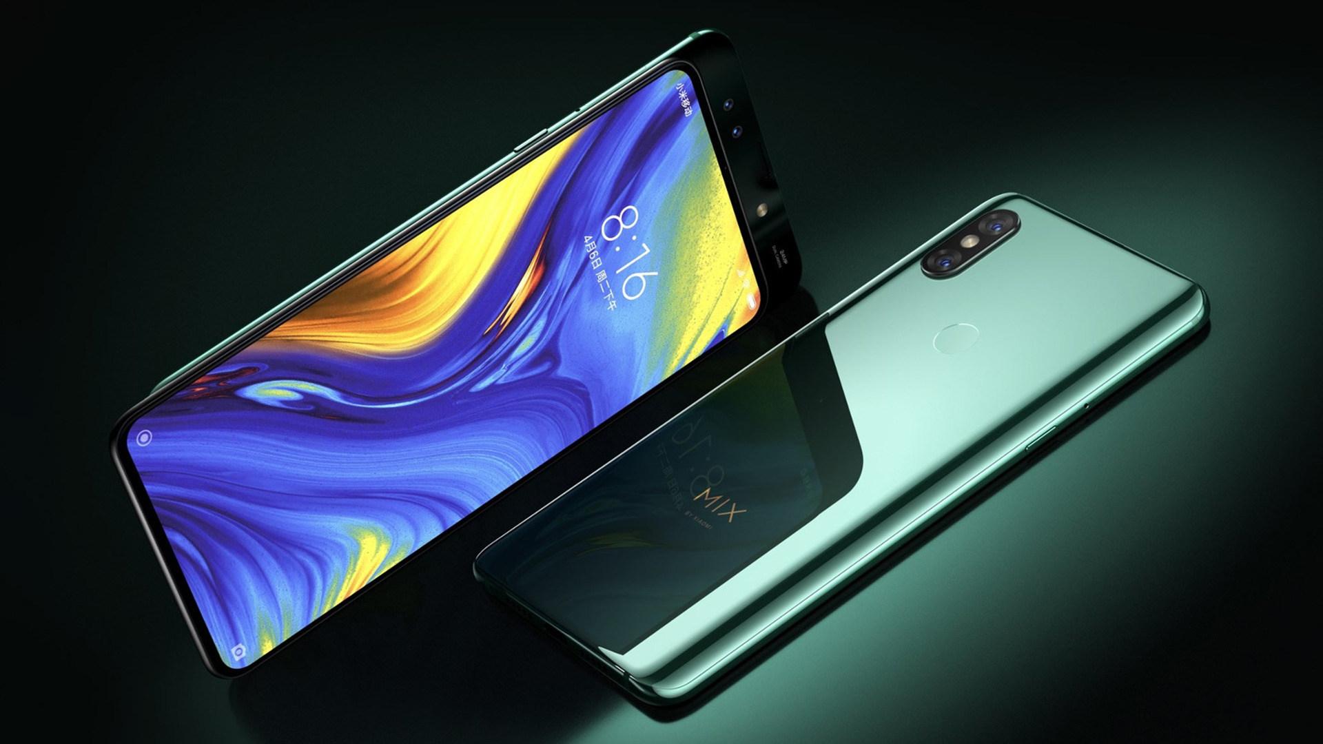 Smartphones, Xiaomi, Mi Mix 3, Android-Smartphones