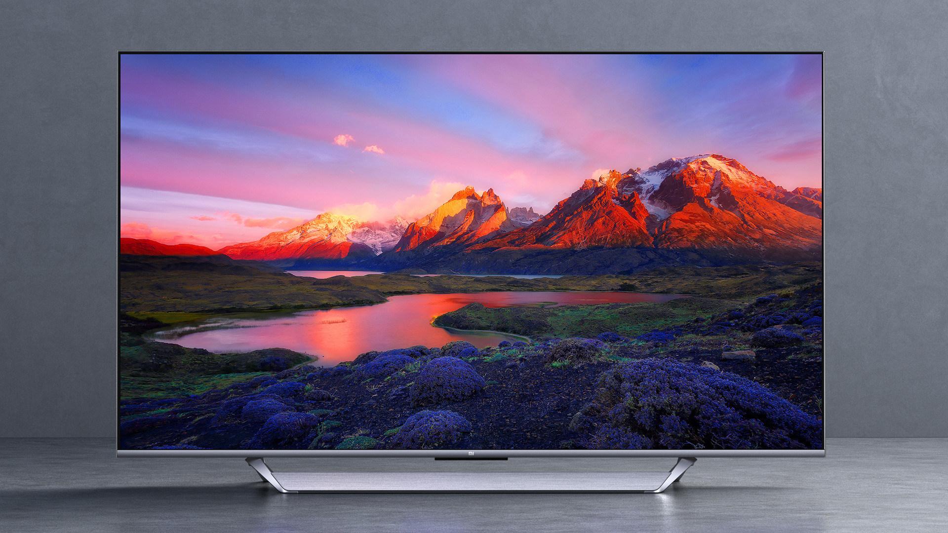 Tv, Fernseher, Xiaomi, 4K, Ultra HD, UHD, Smart-TV, UltraHD, Mi TV Q1, 75 Zoll, Android TV 10