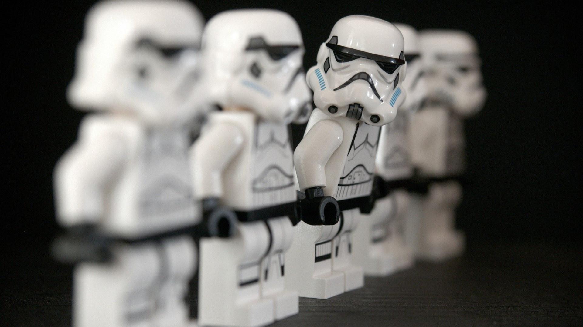 Star Wars, Lego, Figuren, Stormtrooper