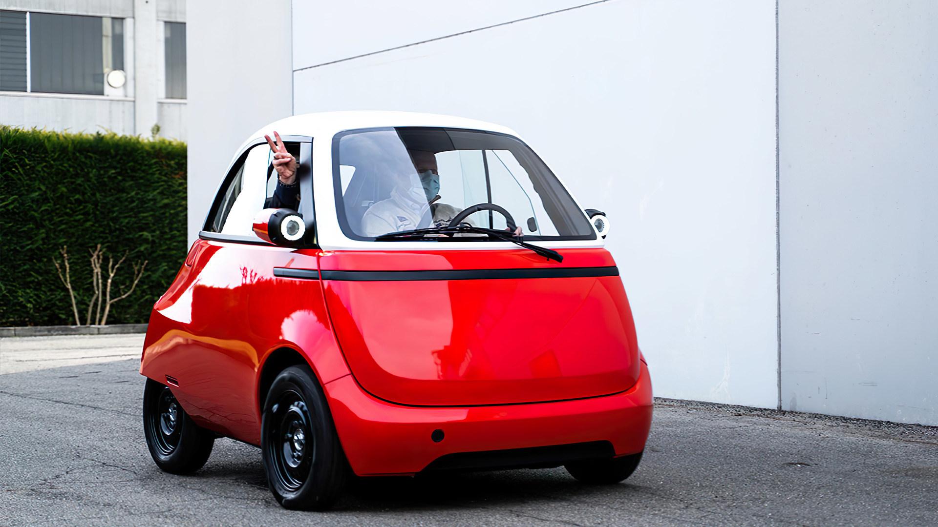 Elektromobilität, Prototyp, Elektroauto, Microlino, Knutschkugel