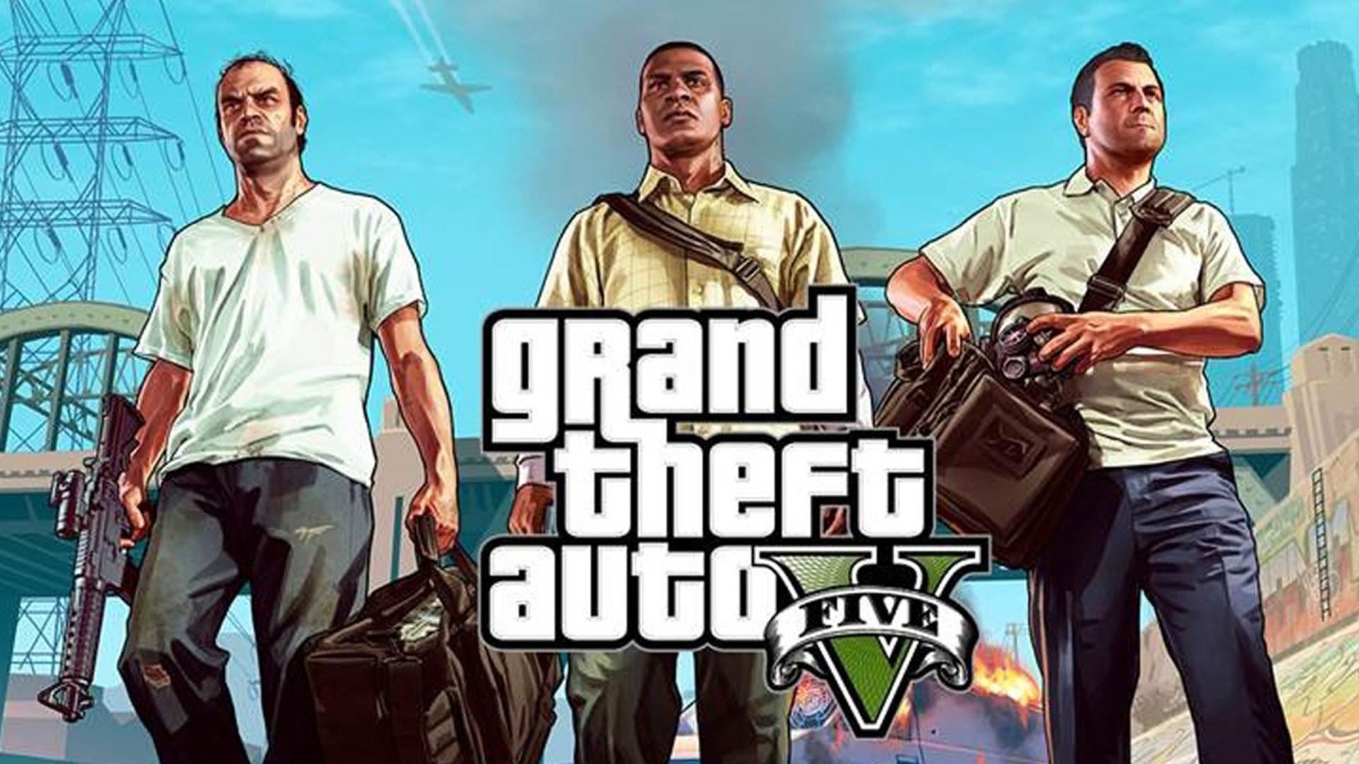 Rockstar Games, GTA 5, Grand Theft Auto 5, Gta V, Take Two