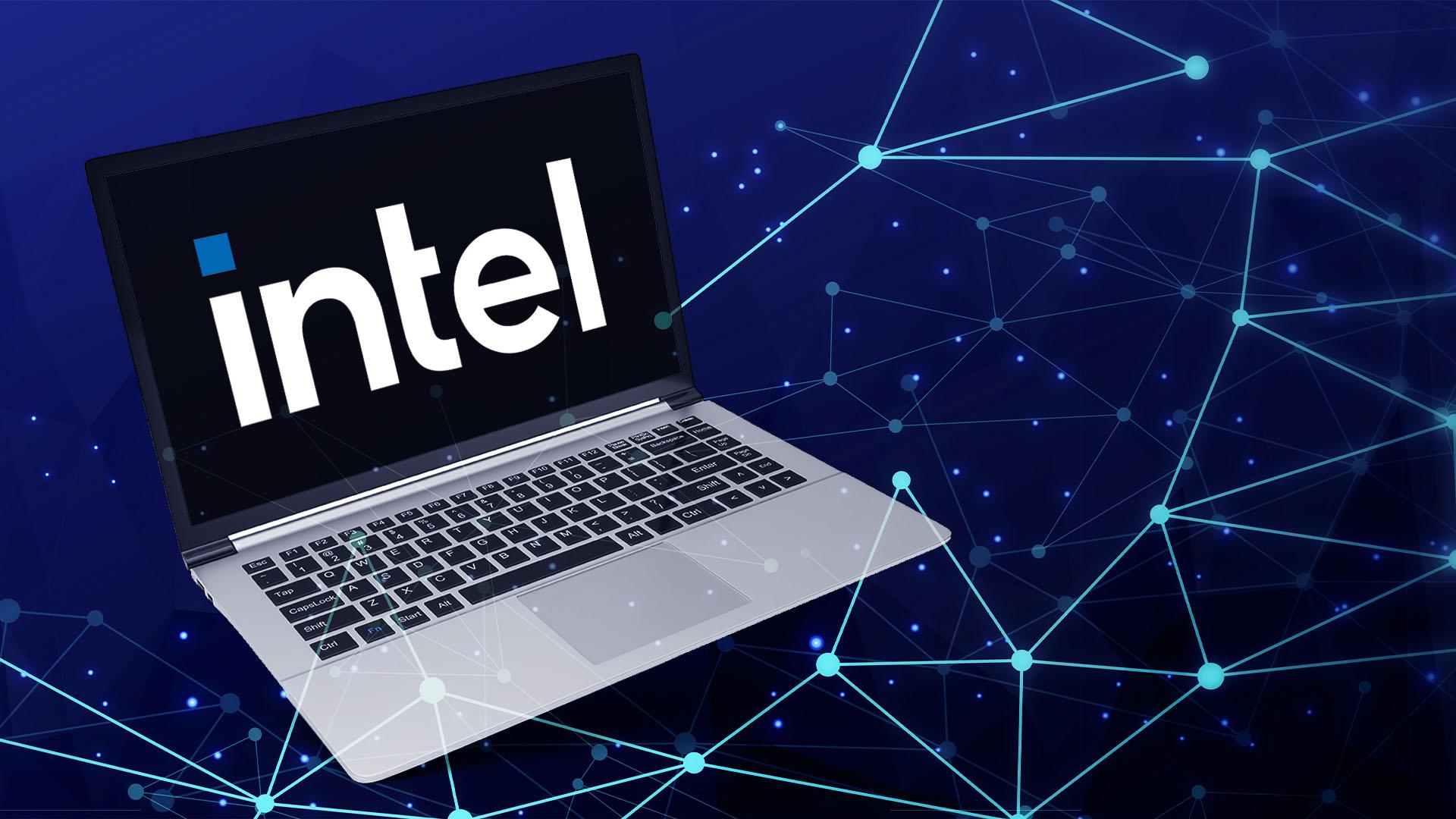 Logo, Notebook, Intel, Laptop, Intel Logo, Neues Intel Logo, Intel Logo 2020
