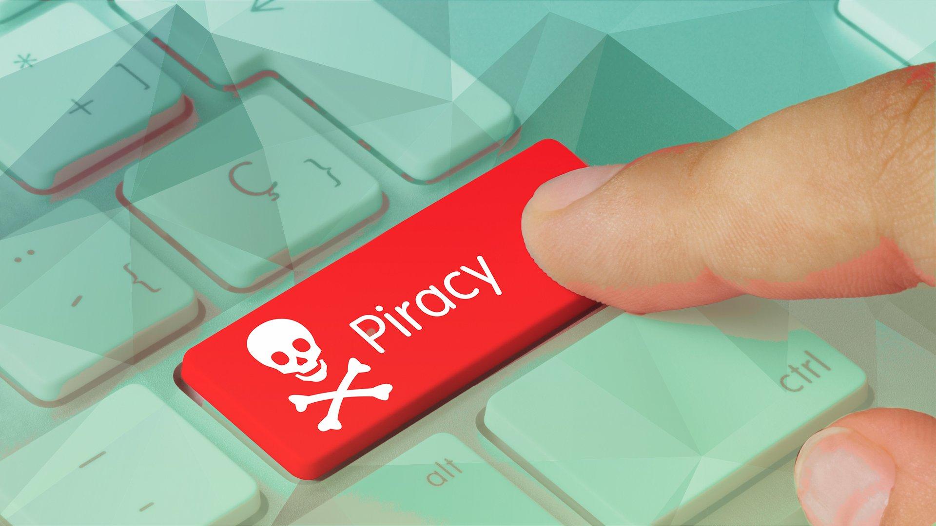 Filesharing, Piraterie, Tastatur, Filesharer, Piracy, Softwarepiraterie, Totenkopf