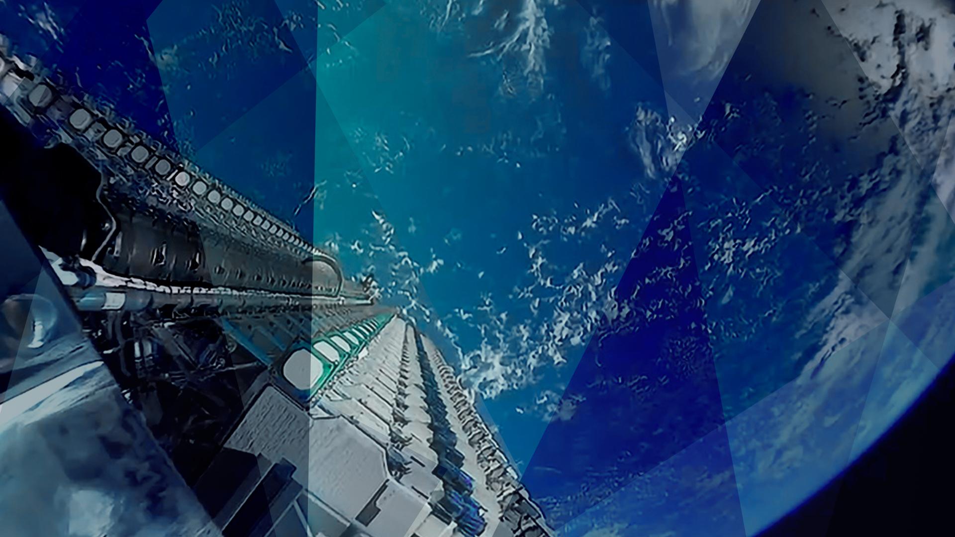 Weltraum, Raumfahrt, Spacex, Rakete, Erde, Planet, Spaceship, Raumstation, Starlink