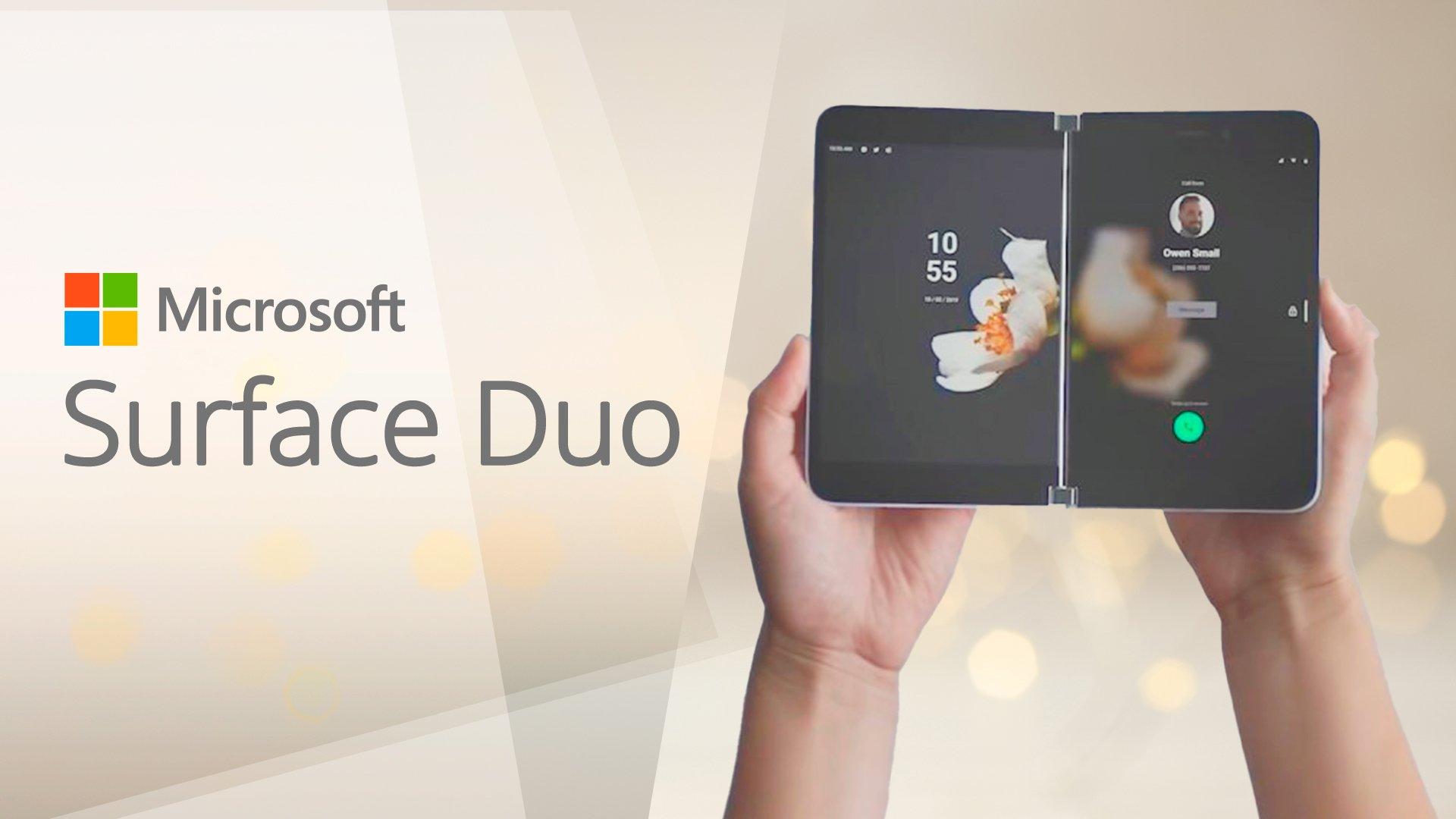 Microsoft, Microsoft Surface, Surface Duo, Microsoft Surface Duo, Duo, Dual-Display, Dual-Bildschirm