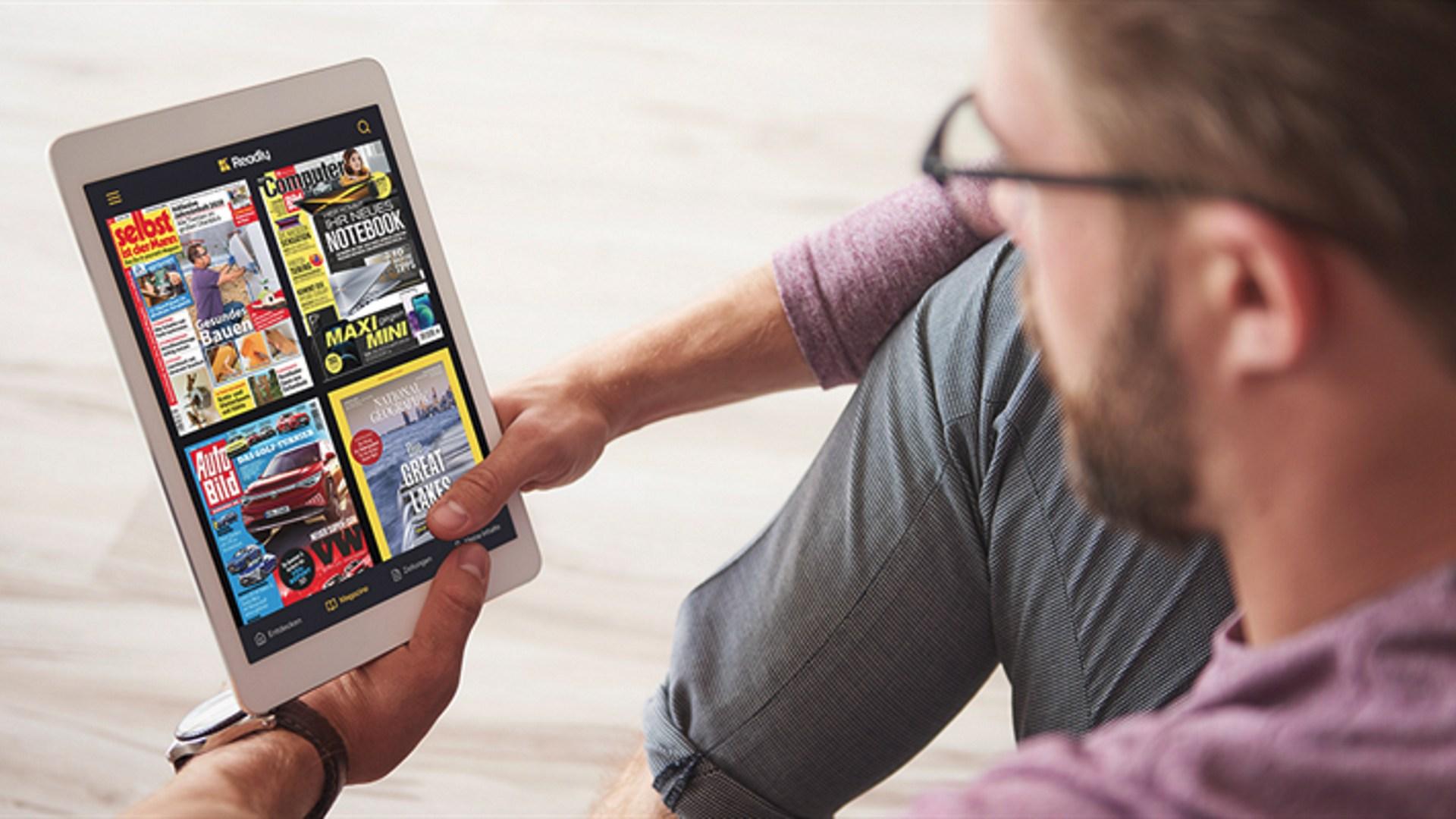 App, Flatrate, Zeitungen, Zeitschriften, Magazine, Readly, ePaper