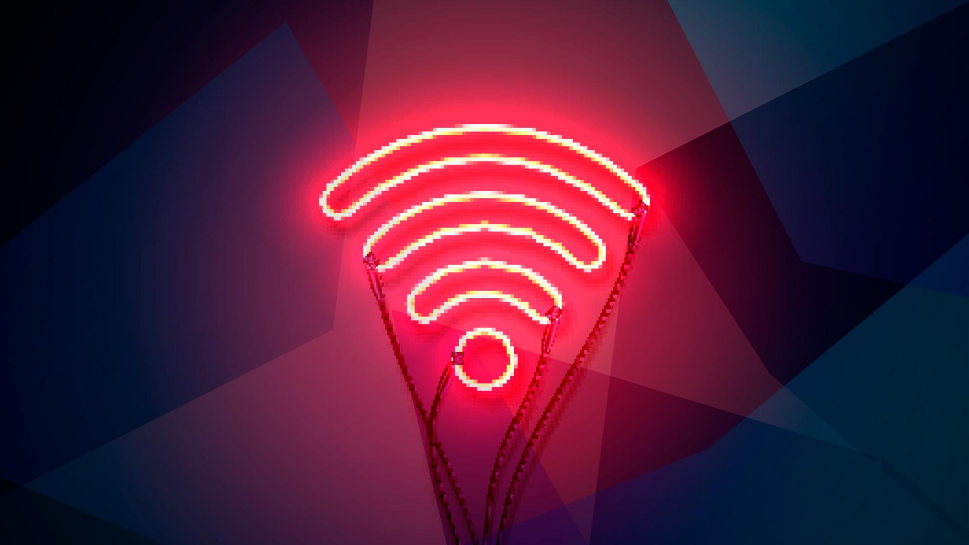 Wlan, WiFi, Wireless, Hotspot, Wlan Hotspot, Neon, WifiSpot, Wireless LAN