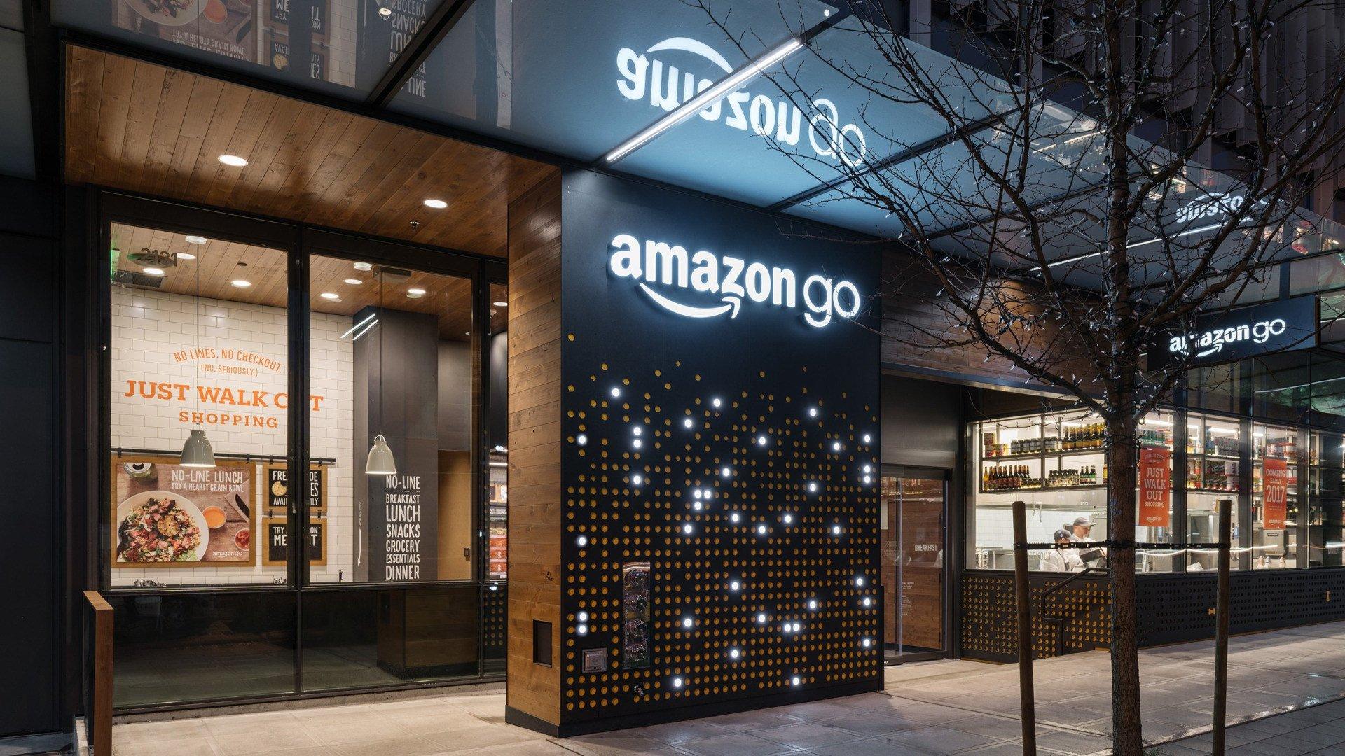 Amazon, Supermarkt, London, Amazon GO, Amazon Go Grocery