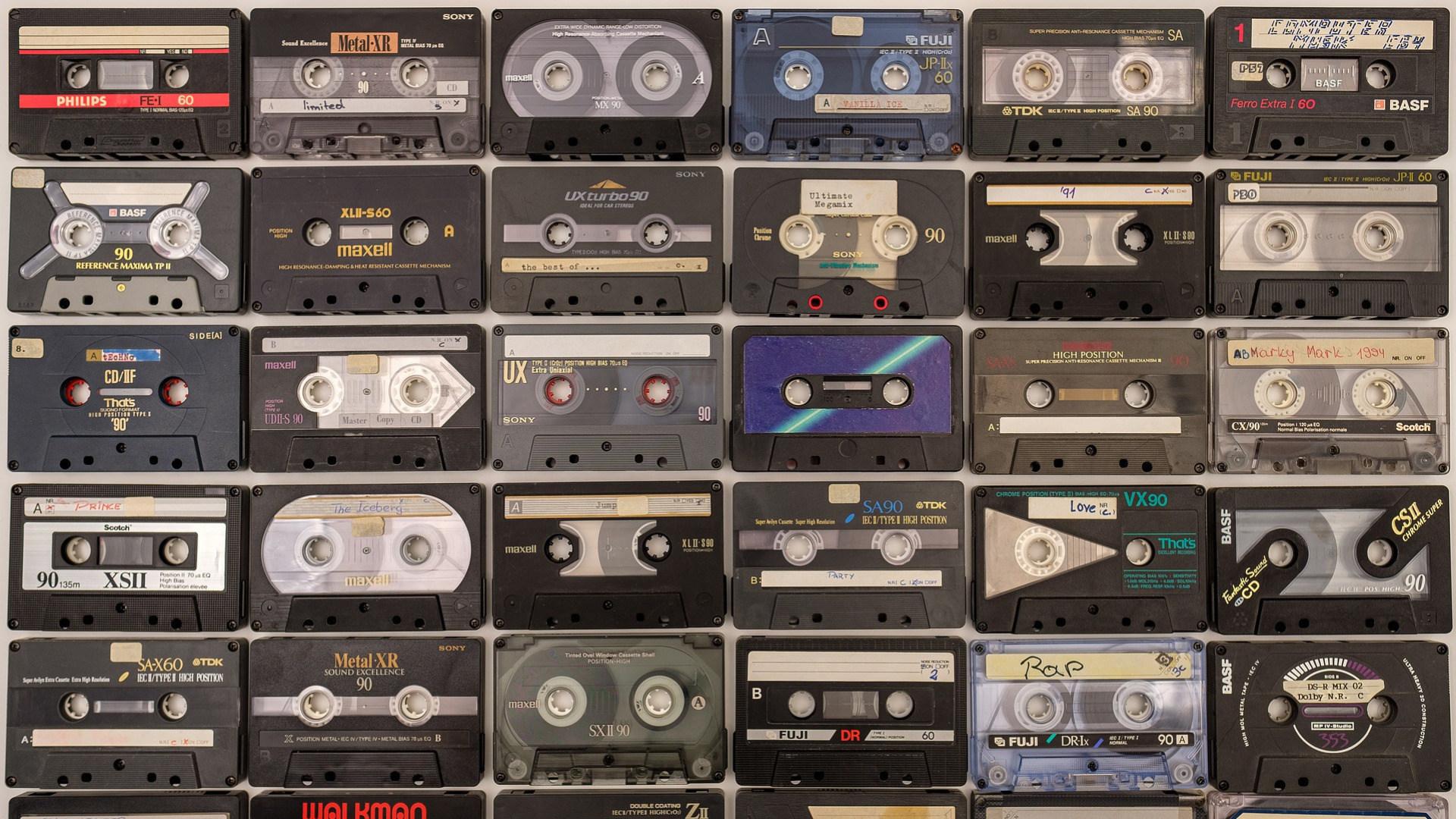 Audio, Tape, Kassette, Kompaktkassette