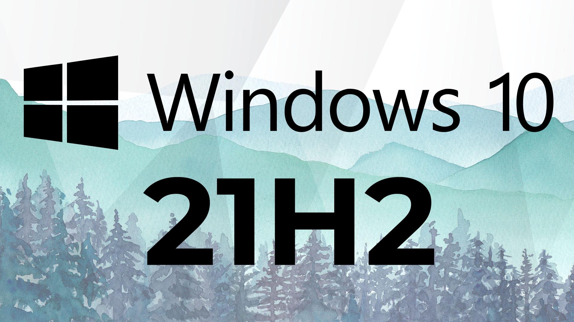 Windows 10 21H2: Das ist die finale Version des kleinen Herbst-Updates
