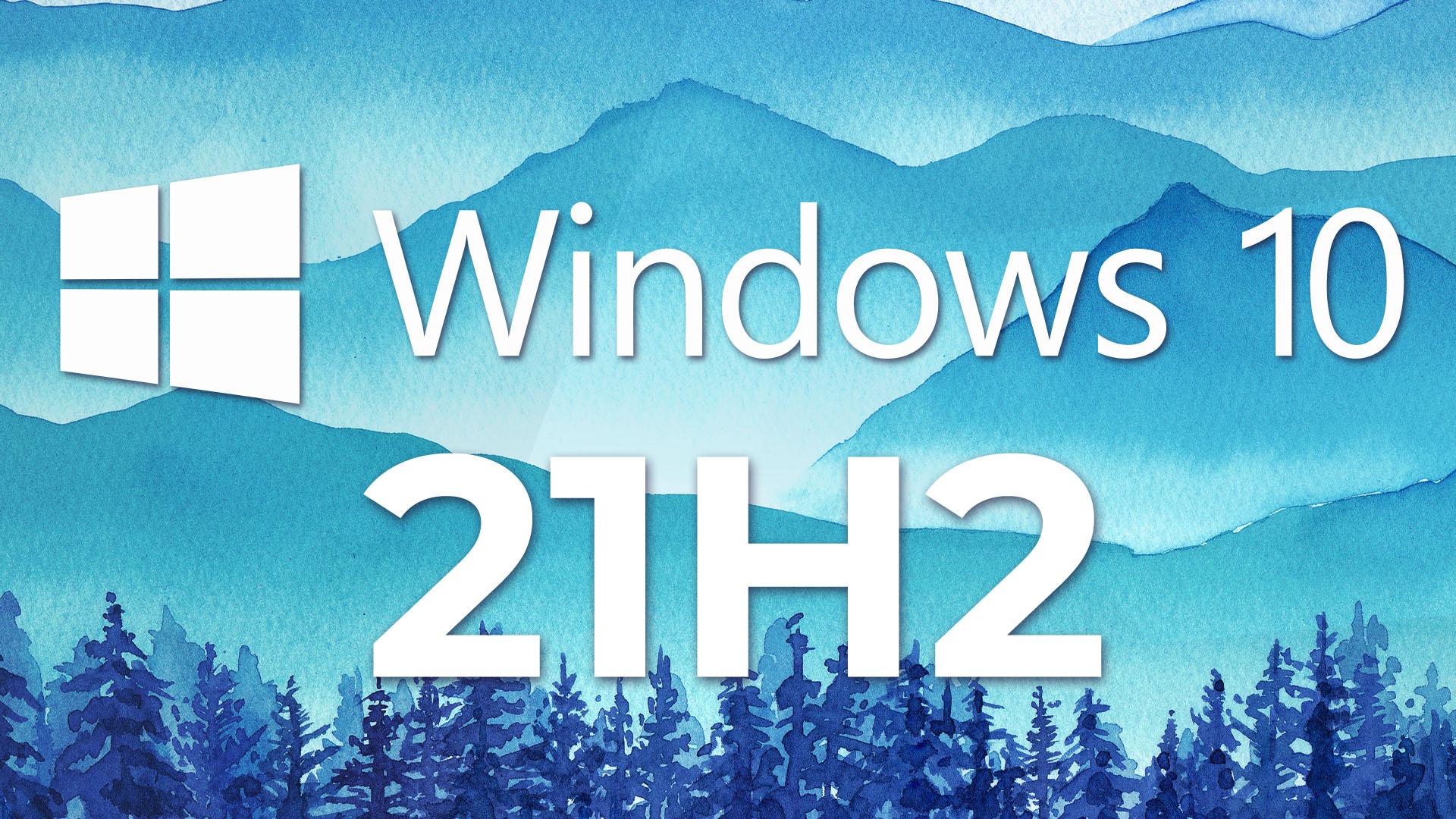 Release wird vorbereitet: Windows 10 November 2021 Update ist fertig