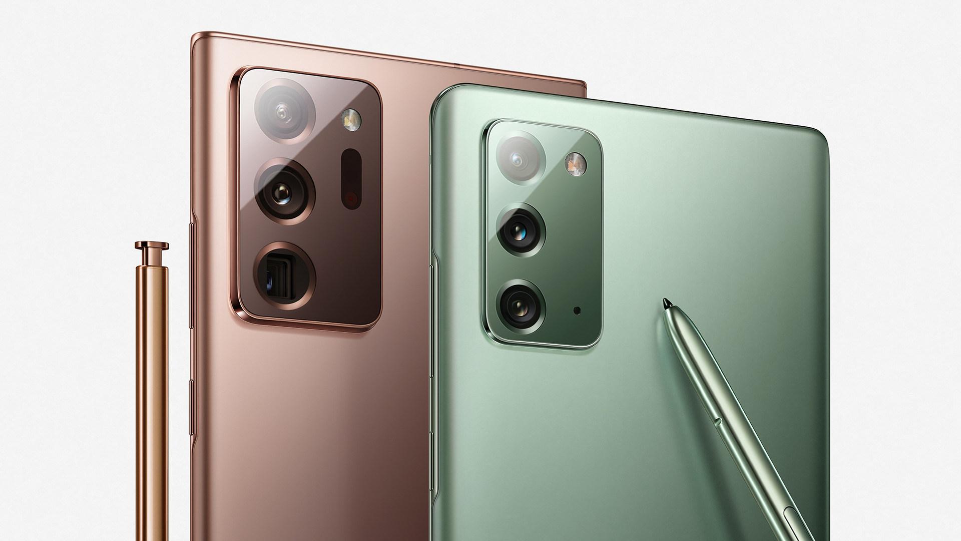 Samsung, Smartphones, S-Pen, Galaxy Note 20, Note20, Galaxy 20 Ultra 5G