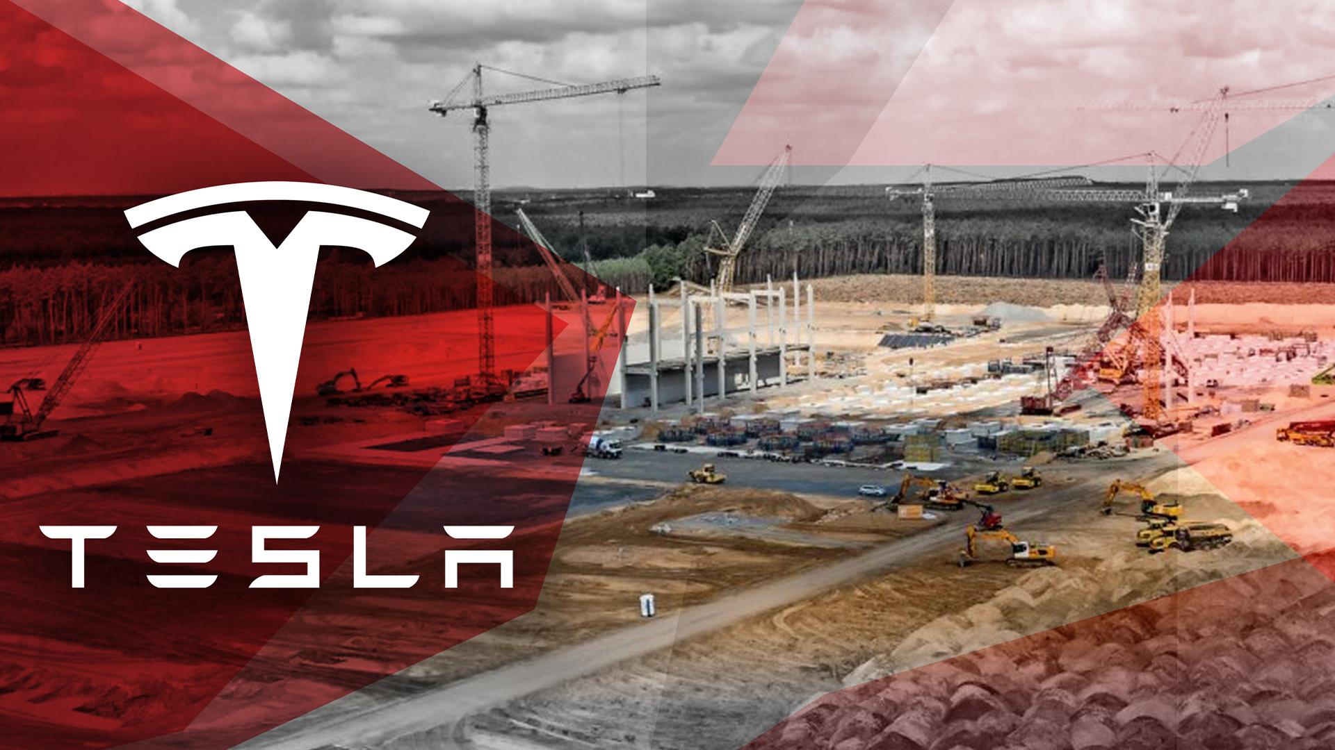 tesla, Tesla Motors, Fabrik, Gigafactory, Grünheide, Nevada, Gigafactory 4, Giga Berlin, Tesla Fabrik, Freienbrink, Tesla Brandenburg, Baustelle