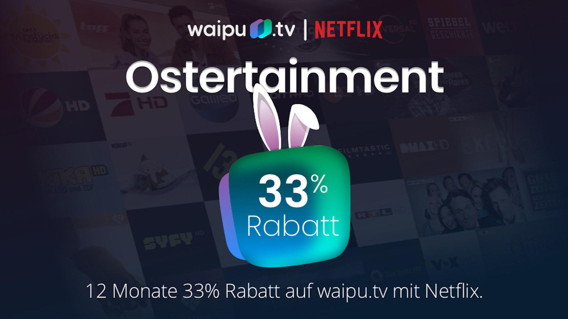 Streaming, Tv, Aktion, Waipu.tv, waipu