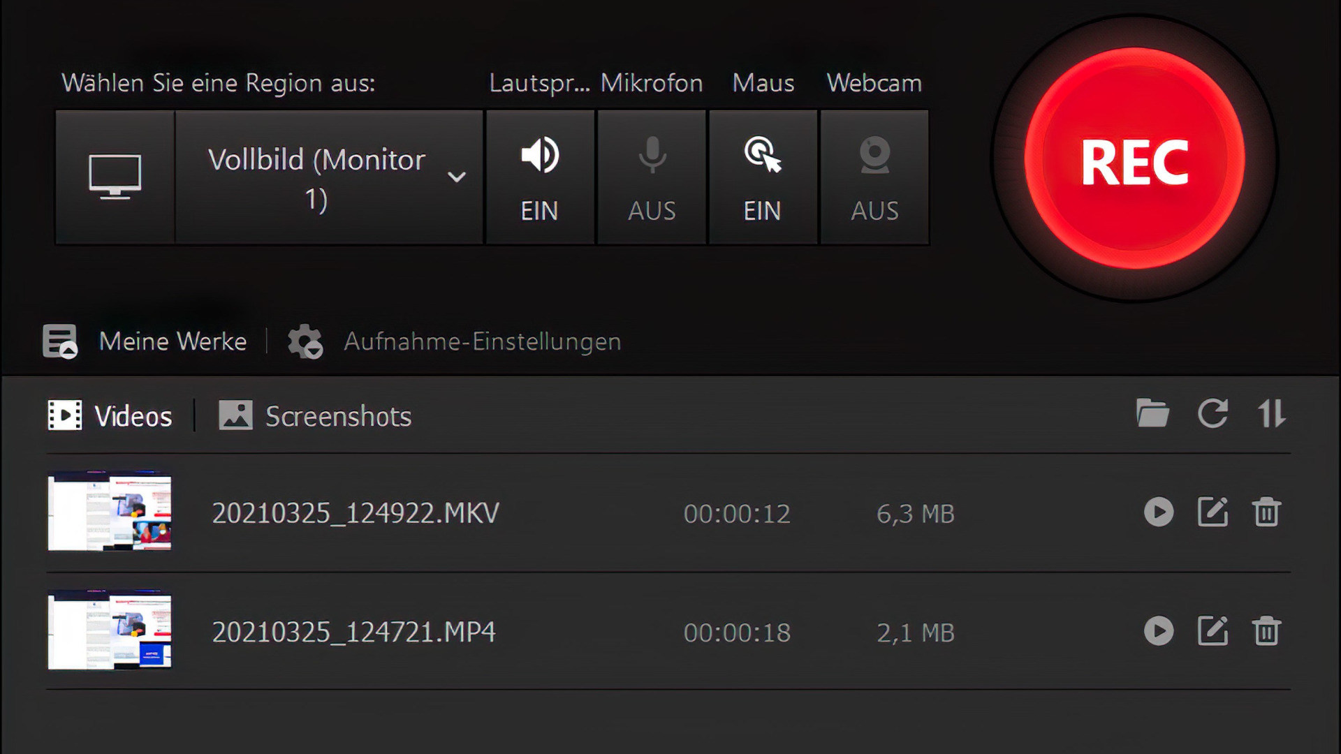 IObit, Screencast, iFun Screen Recorder
