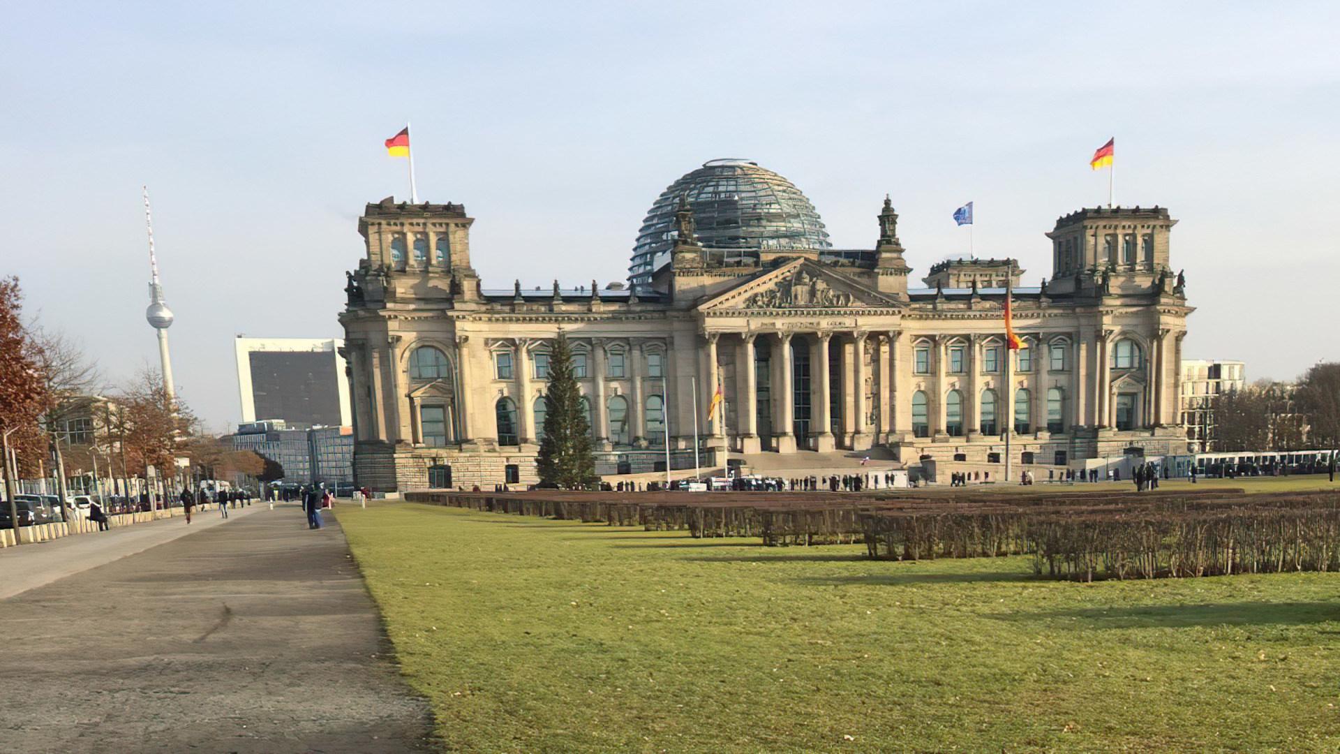 Politik, Berlin, Bundestag, Bund, Reichstagsgebäude
