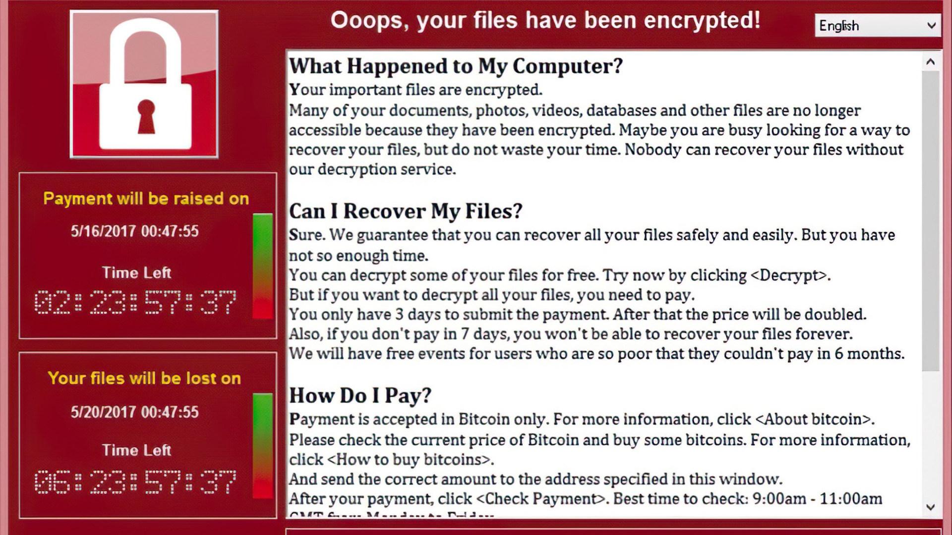 Lücke, Ransomware, Erpressung, WannaCry, erpressungstrojaner