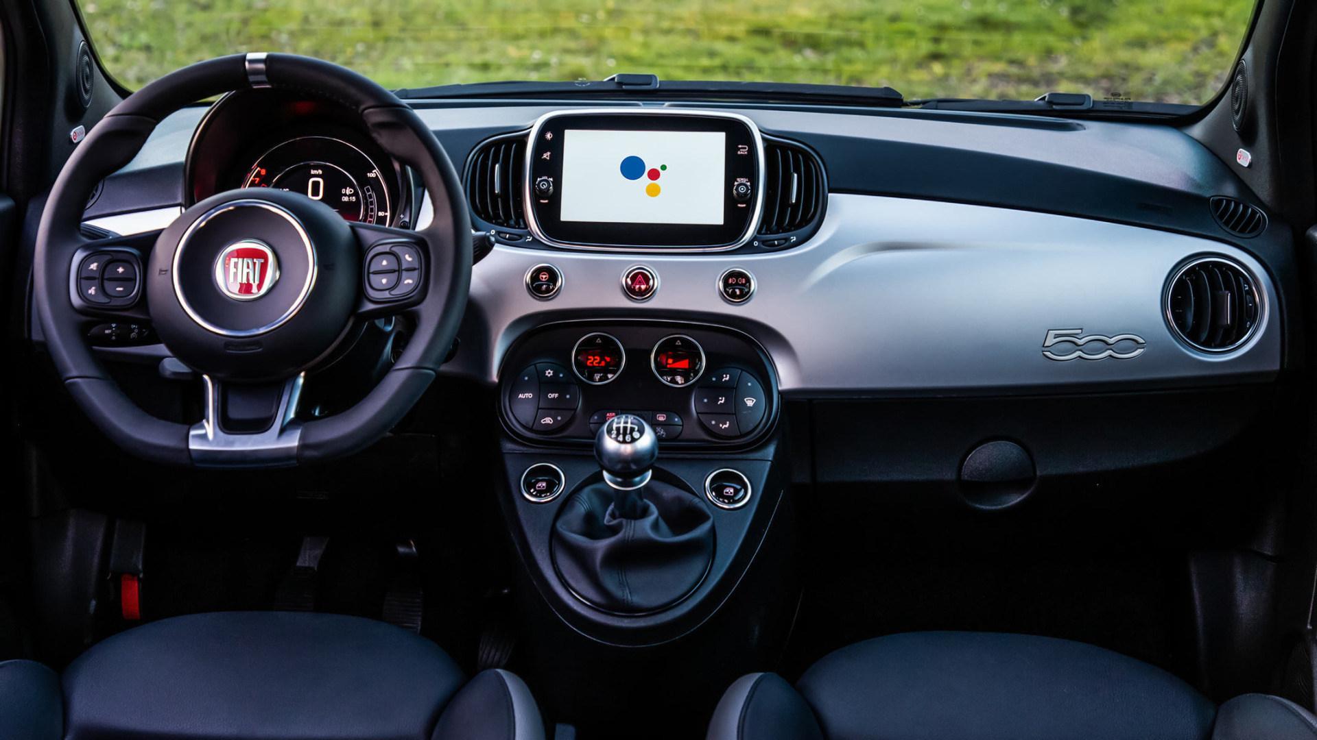 Google, Google Assistant, Fiat, Fiat 500, Hey Google, Sondermodell, Fiat 500 Hey Google