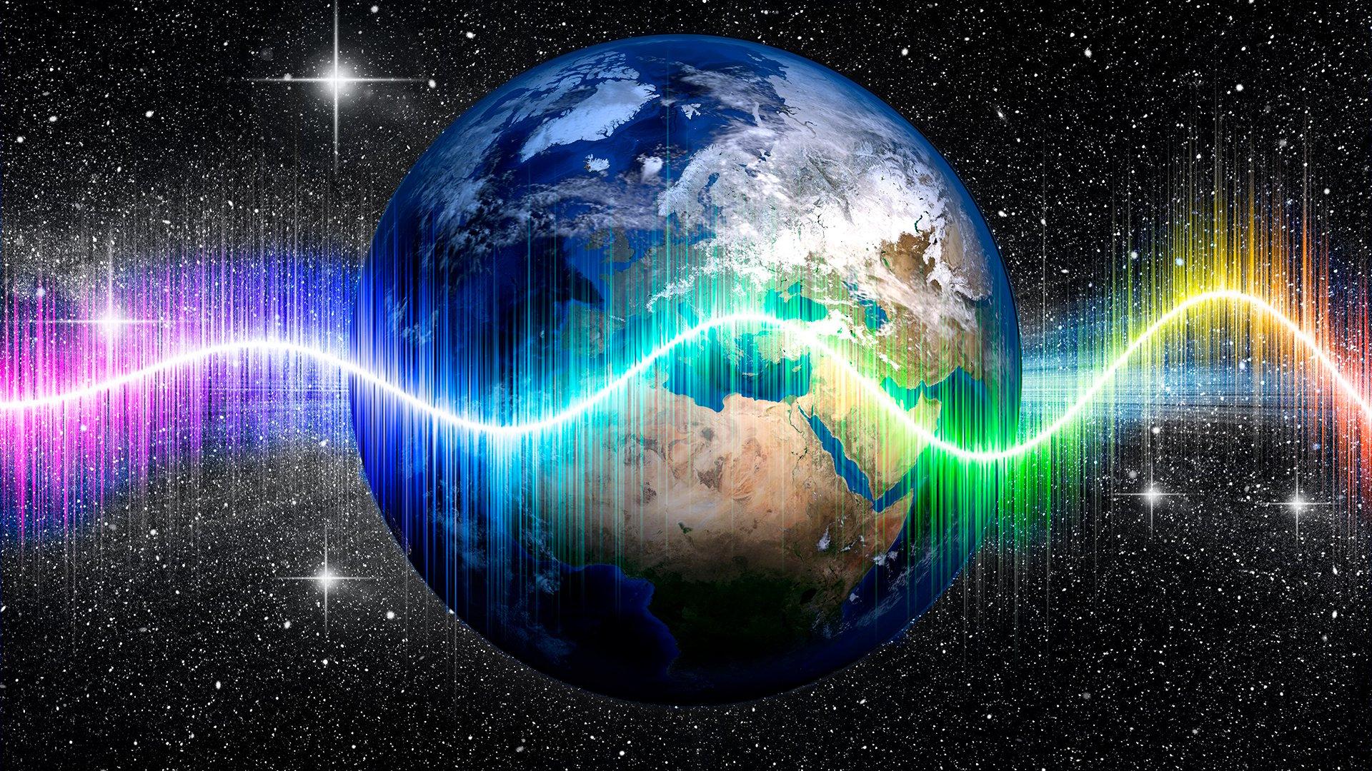 Weltraum, Flash, Raumfahrt, Nasa, Energie, Weltall, Strom, Funk, Umwelt, Erde, Planet, Umweltschutz, Klimaschutz, Welt, Klimawandel, Globus, Erderwärmung, Klimaerwärmung, Sterne, Blitz, Temperatur, Earth, Sternenhimmel, Nachthimmel, Sternschnuppen, Planet Erde, Farbverlauf, Wellen, Funkwellen, Regenbogen, Sternhimmel, Radiowellen