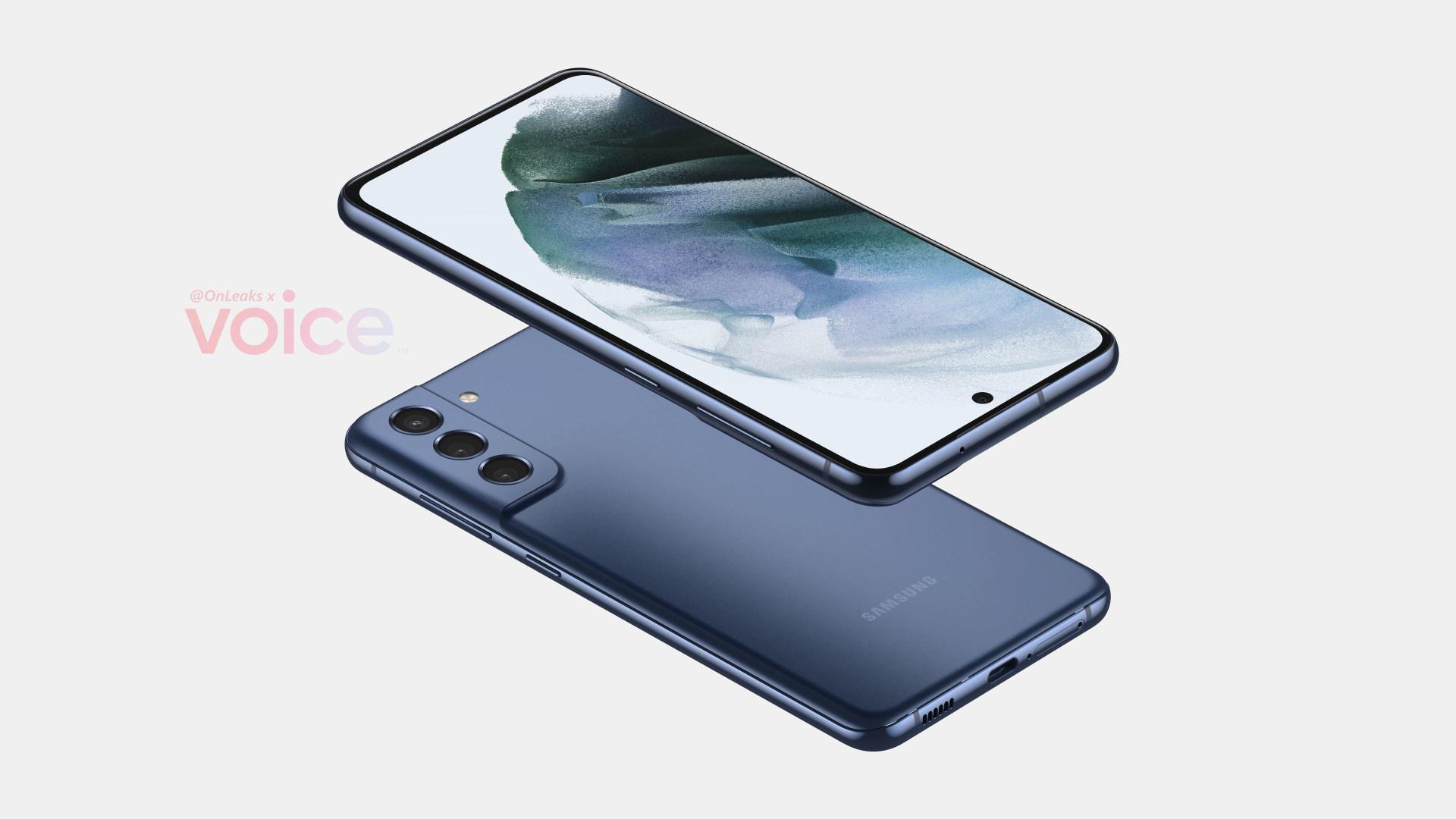 Smartphone, Samsung, Renderbild, Galaxy S21, Fan Edition