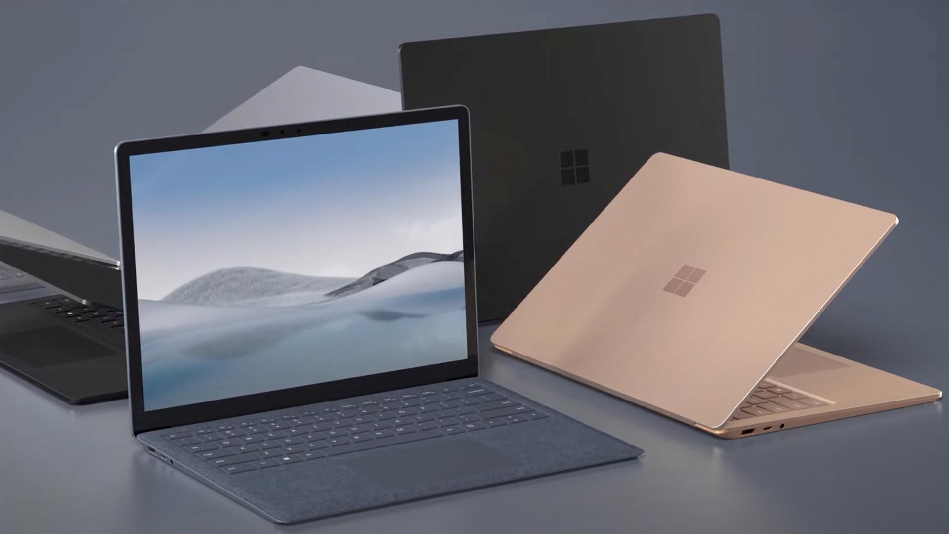 Microsoft, Notebooks, Laptops, PixelSense, Surface Laptop 4, Alcantara