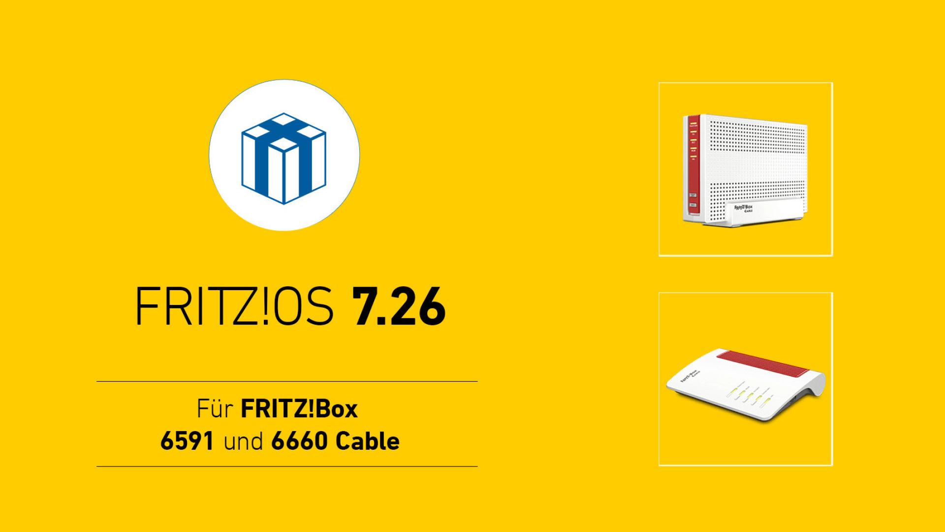 Router, Avm, Fritzbox, FritzOS, Kabel, FritzBox 6591 Cable, FritzBox 6660 Cable, FritzOS 7.26