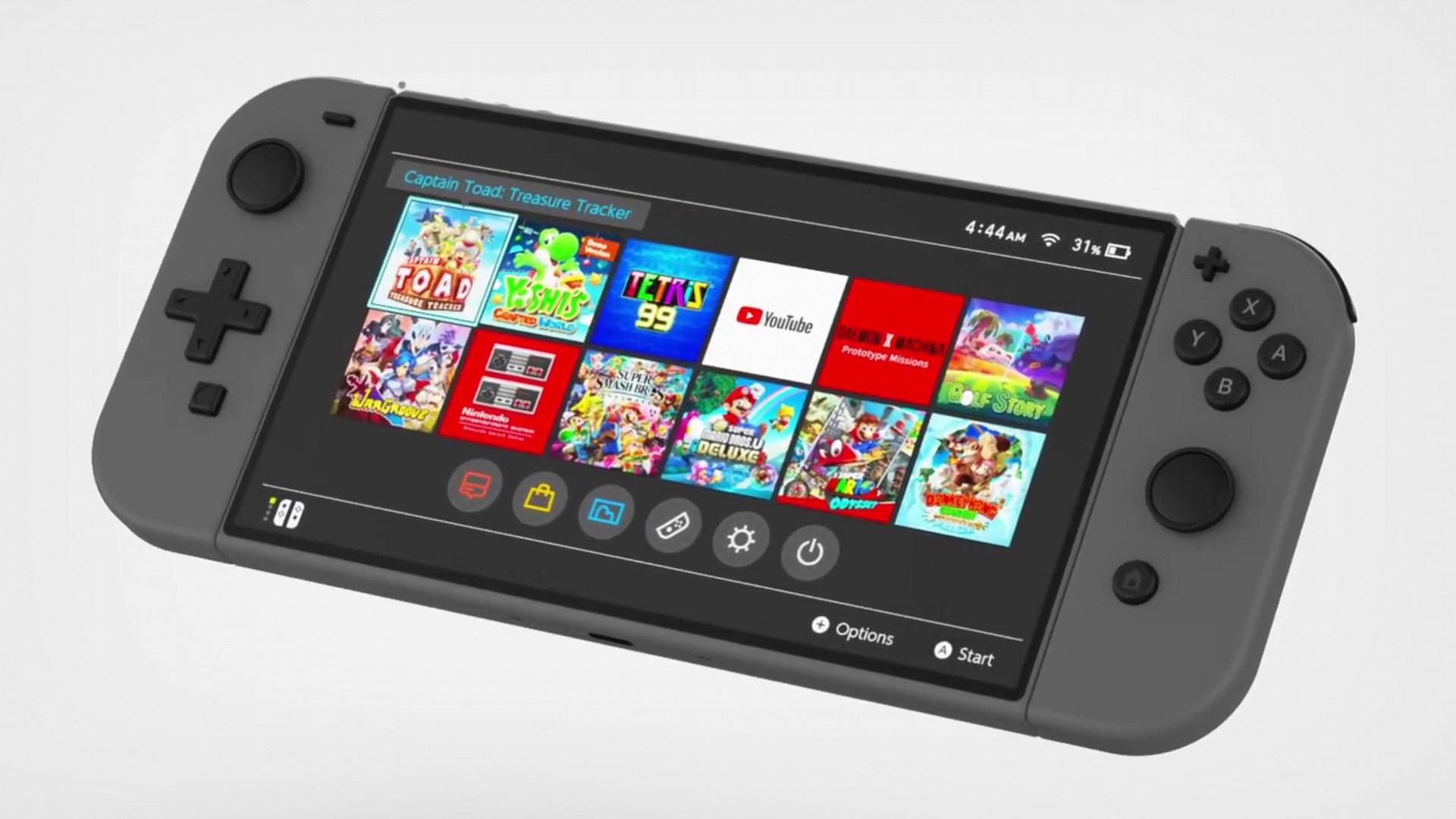 Konsolen, Spielekonsolen, Gerüchte, Leaks, Konzept, Renderbilder, Renderings, Nintendo Switch Pro, Nintendo Switch 2