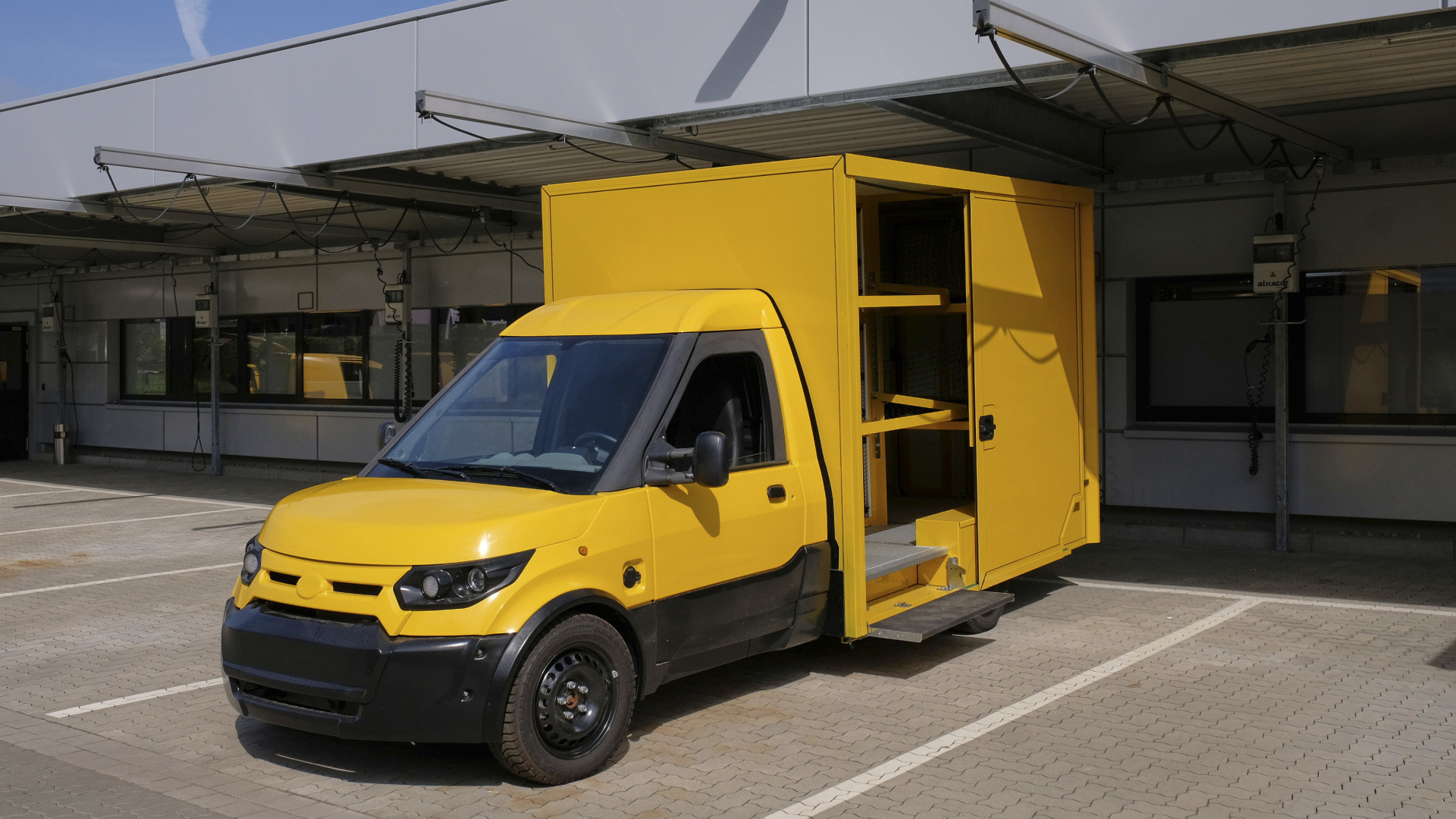 Deutsche Post, Streetscooter, Elektro-Transporter, Streetscooter Gigabox