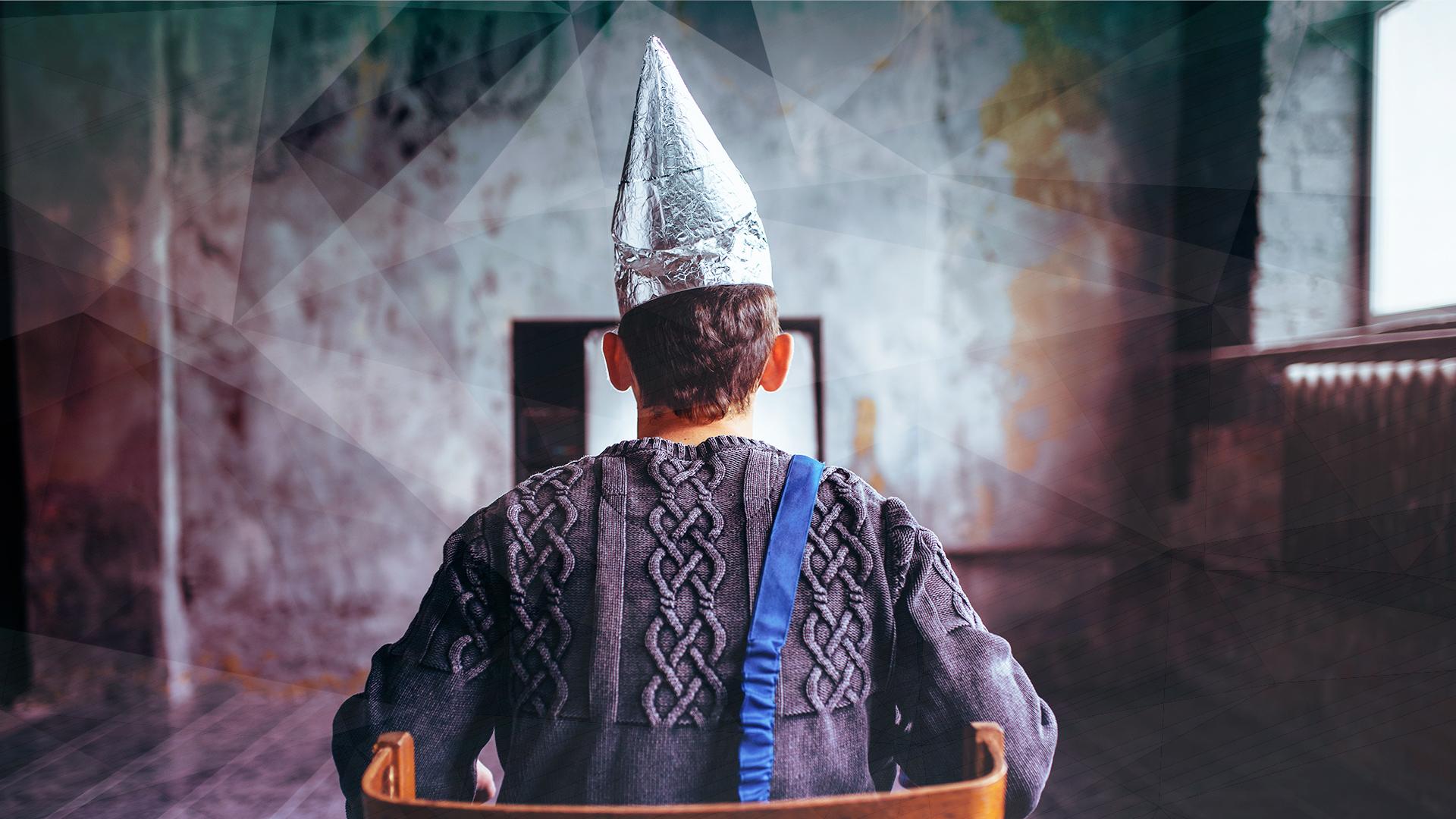 Aluminium, Verschwörungstheorien, Verschwörung, Verschwörungstheoretiker, Angst, Aluhut, Aluminiumfolien-Hut, Stanniolhut
