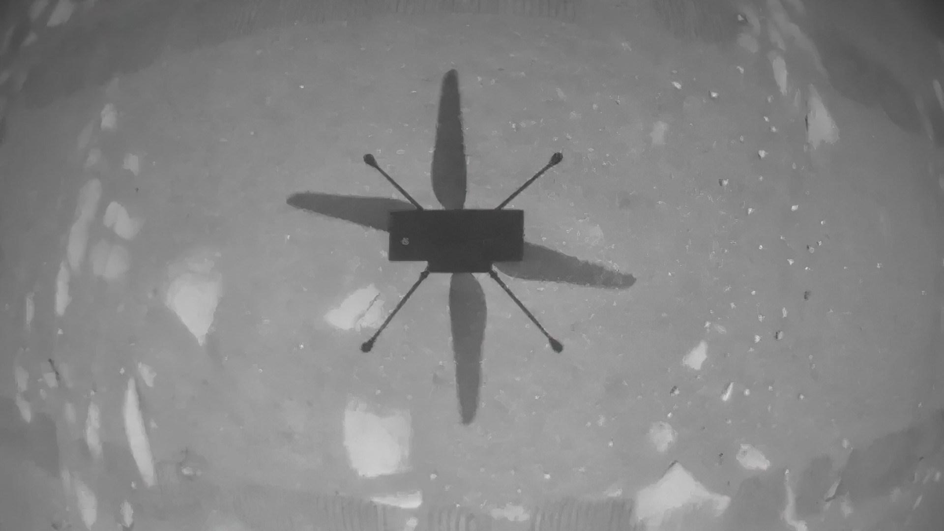 Drohne, Mars, flug, Perserverance, Ingenuity