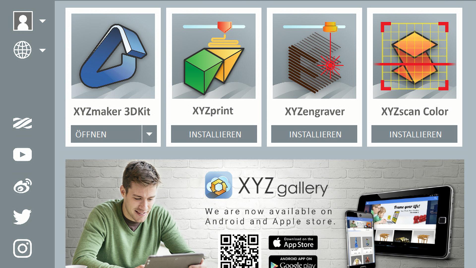 3D-Druck, XYZmaker, XYZMaker Suite