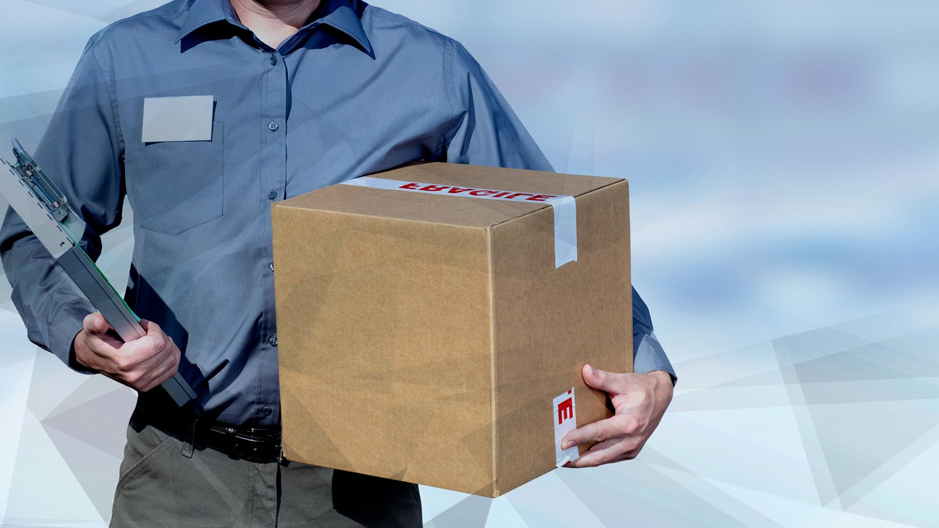 shopping, E-Commerce, Handel, Logistik, Paket, Auslieferung, Zustellung, Kaufen, Post, Pakete, Paketdienst, Paketzusteller, Logistikunternehmen, Home Shopping, Versand-Paket, Paketverfolgung, Postbote, Briefbote, Bote, Übergabe