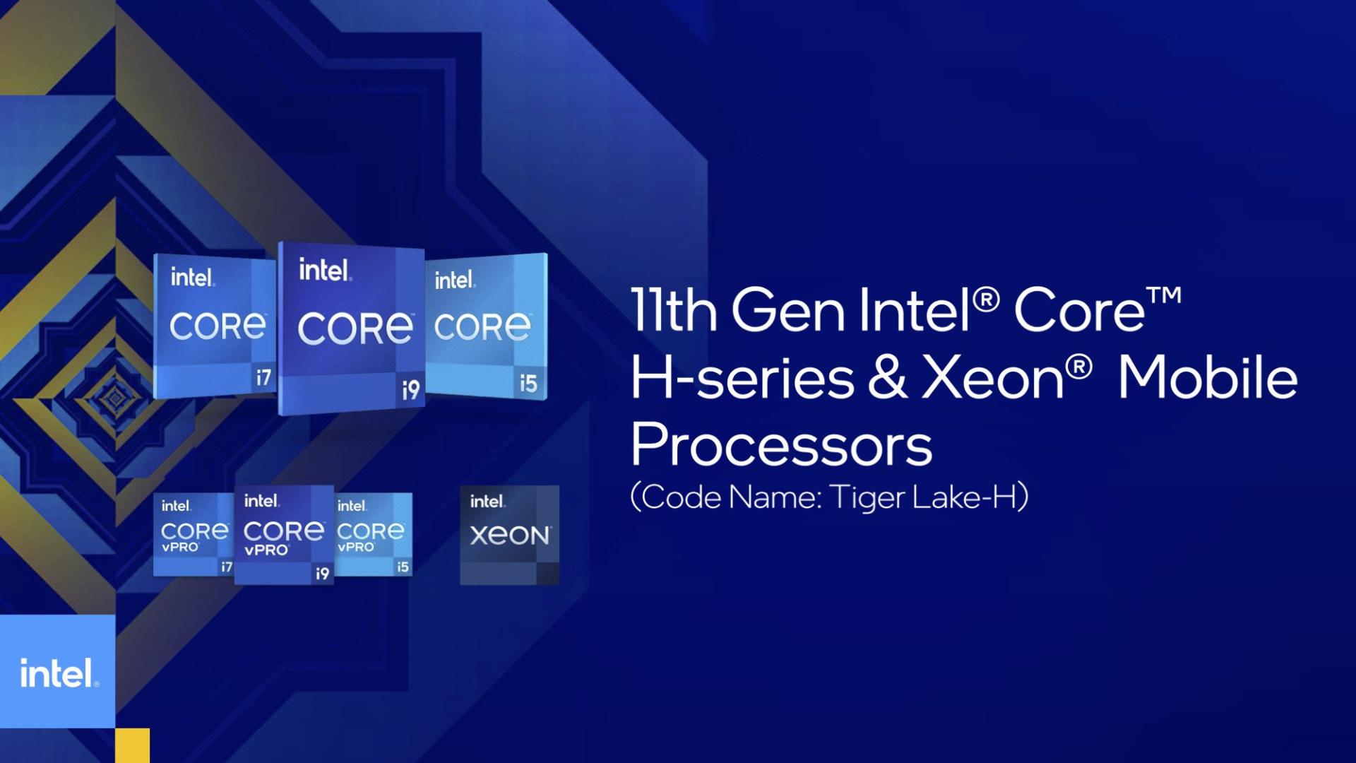 Notebook, Cpu, Intel Core, Tiger Lake, 11. Gen, Tiger Lake H