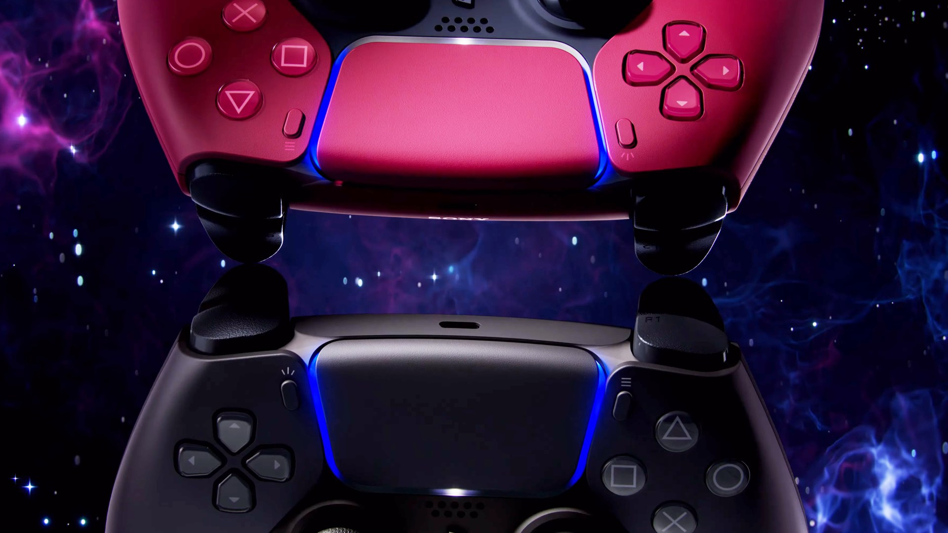 Gaming, Sony, Spielkonsole, Playstation, Design, Konsolen, PlayStation 5, ps5, Sony PlayStation 5, Farbe, Farben, Spielkonsolen, Midnight Black, Cosmic Red