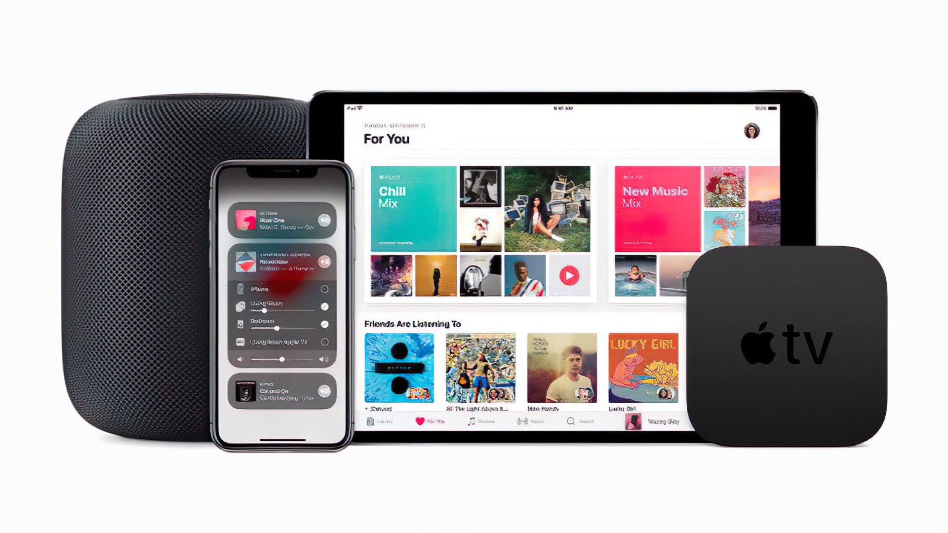 Apple, Iphone, Ipad, Apple Tv, Apple Music, Bundle, Homepod
