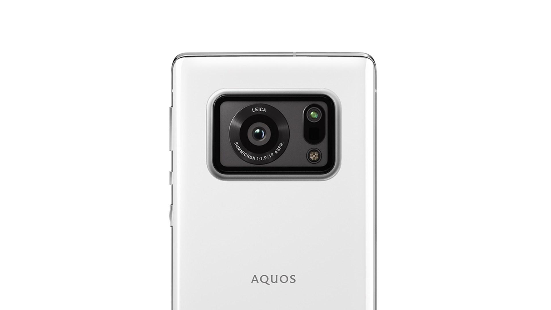 Smartphone, Kamera, Foxconn, Sharp, Leica, Sharp Aquos R6