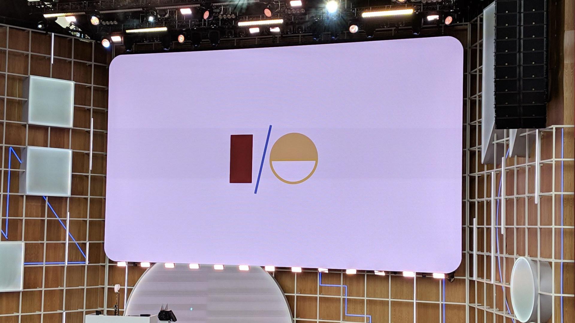 Google, Keynote, Messe, Google I/O, Bühne, Google IO